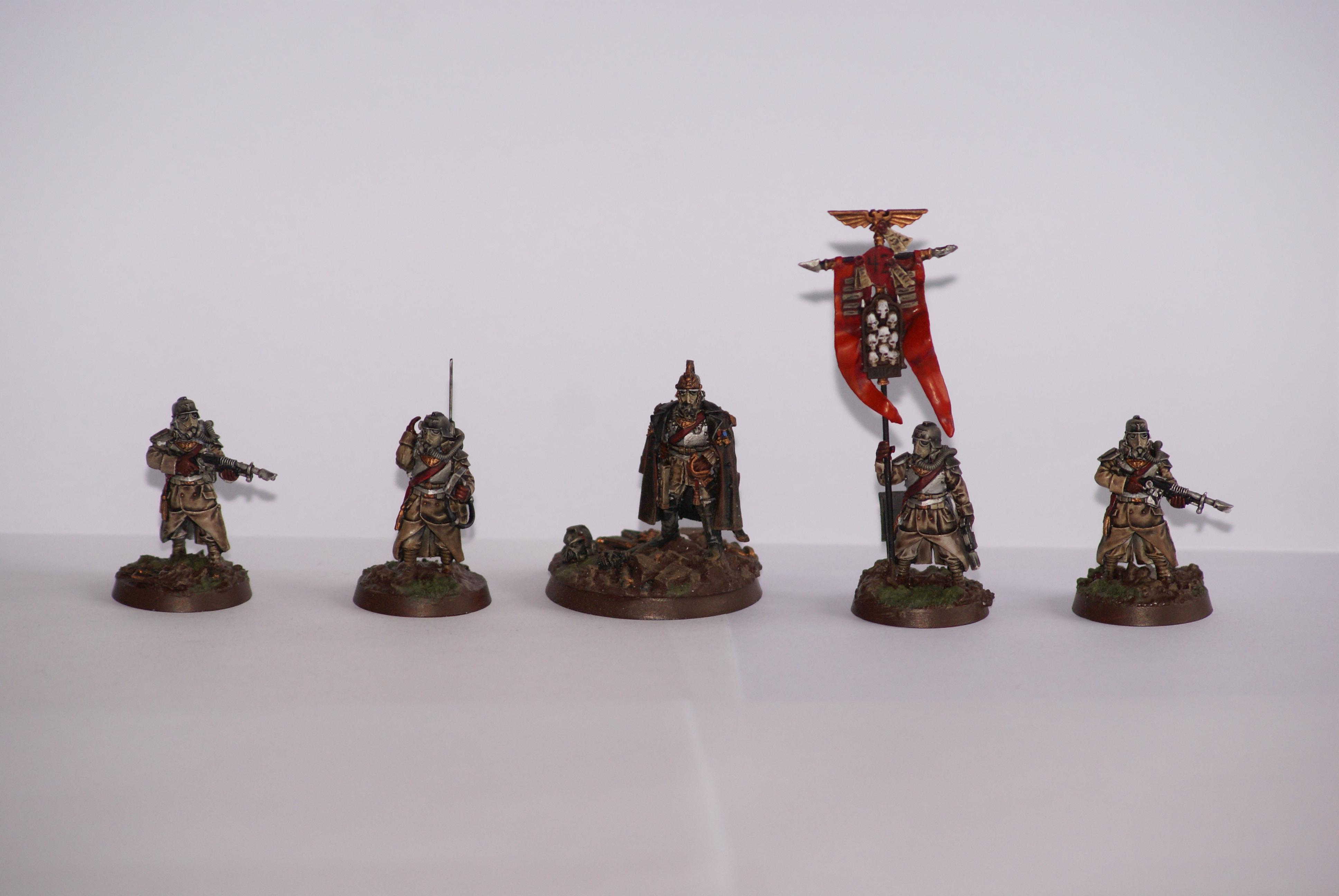 Death Korps of Krieg, Deathkorps, Imperial Guard, Warhammer 40,000, Wash