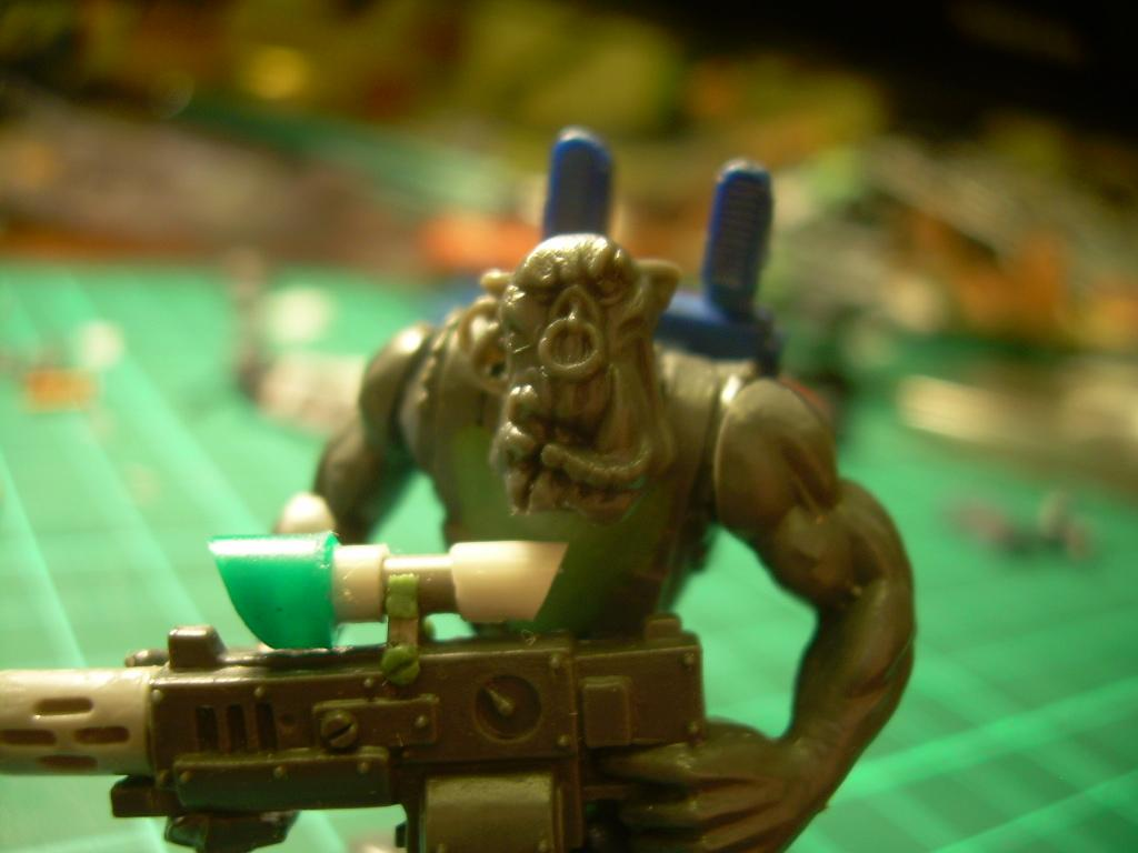 Conversion, Space Orcs, Templars, Warhammer 40,000