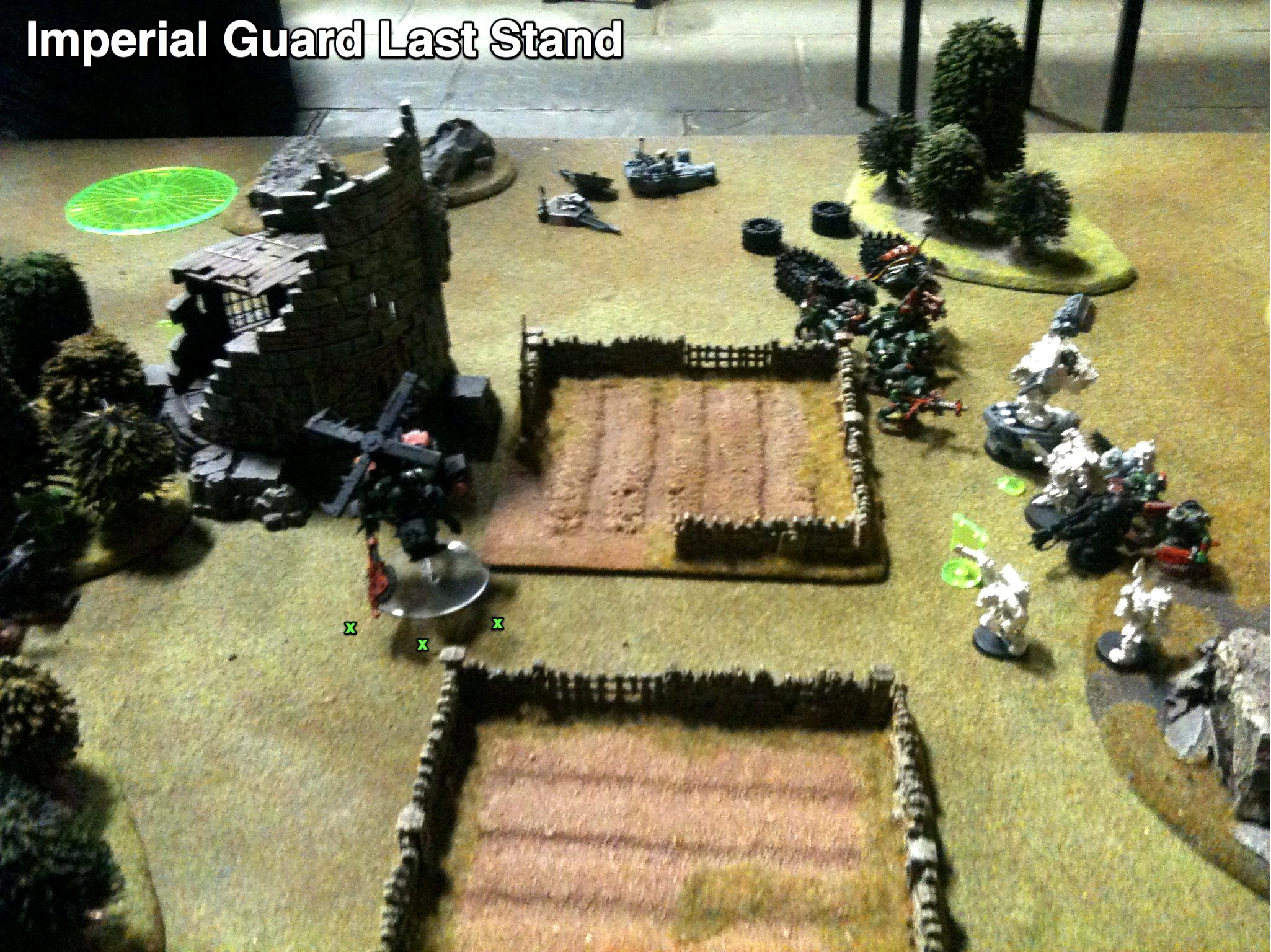 Battle Report, Imperial Guard, Orks