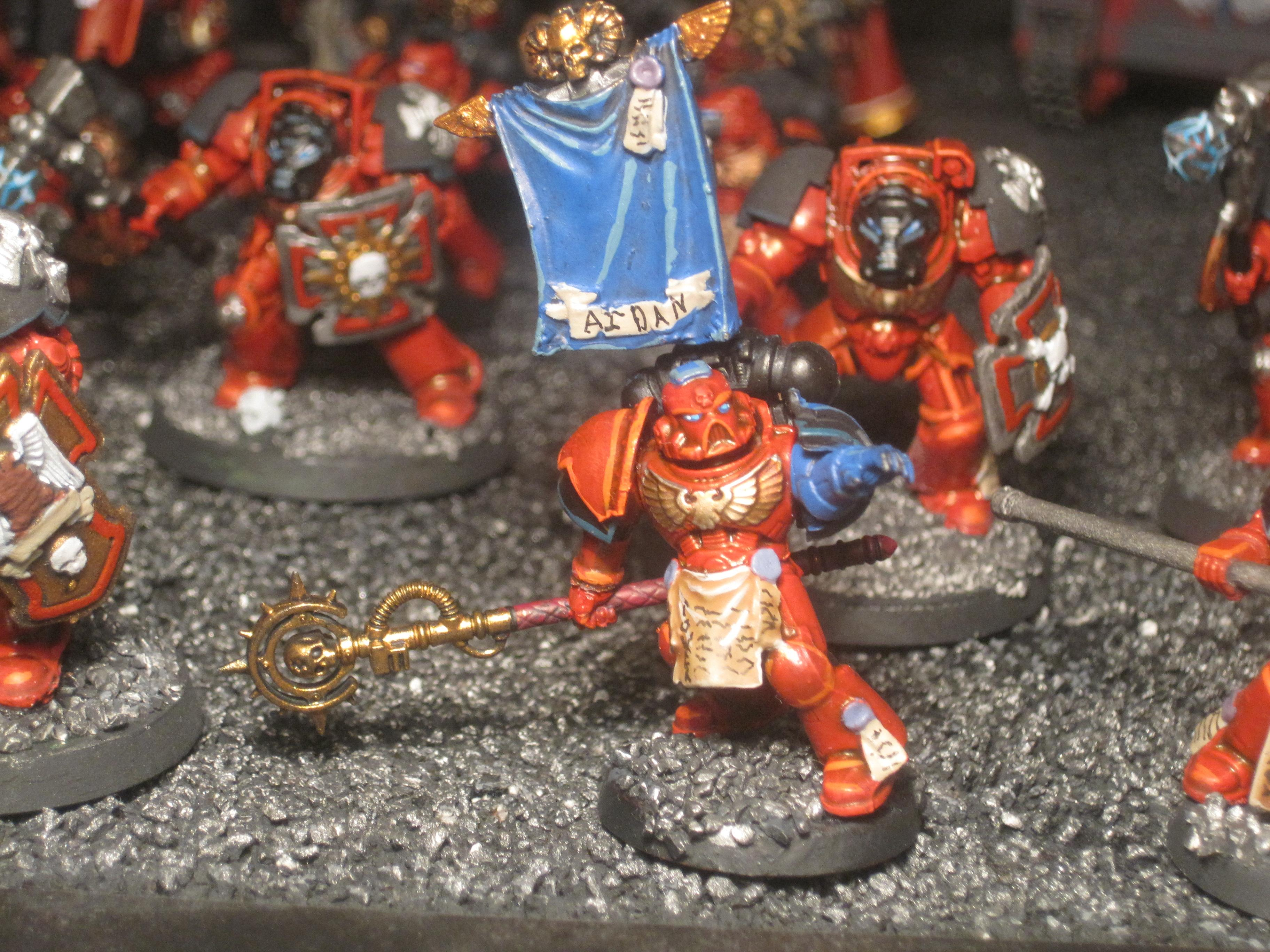 Exorcists, Headquarters, Librarian, Space Marines, Warhammer 40,000