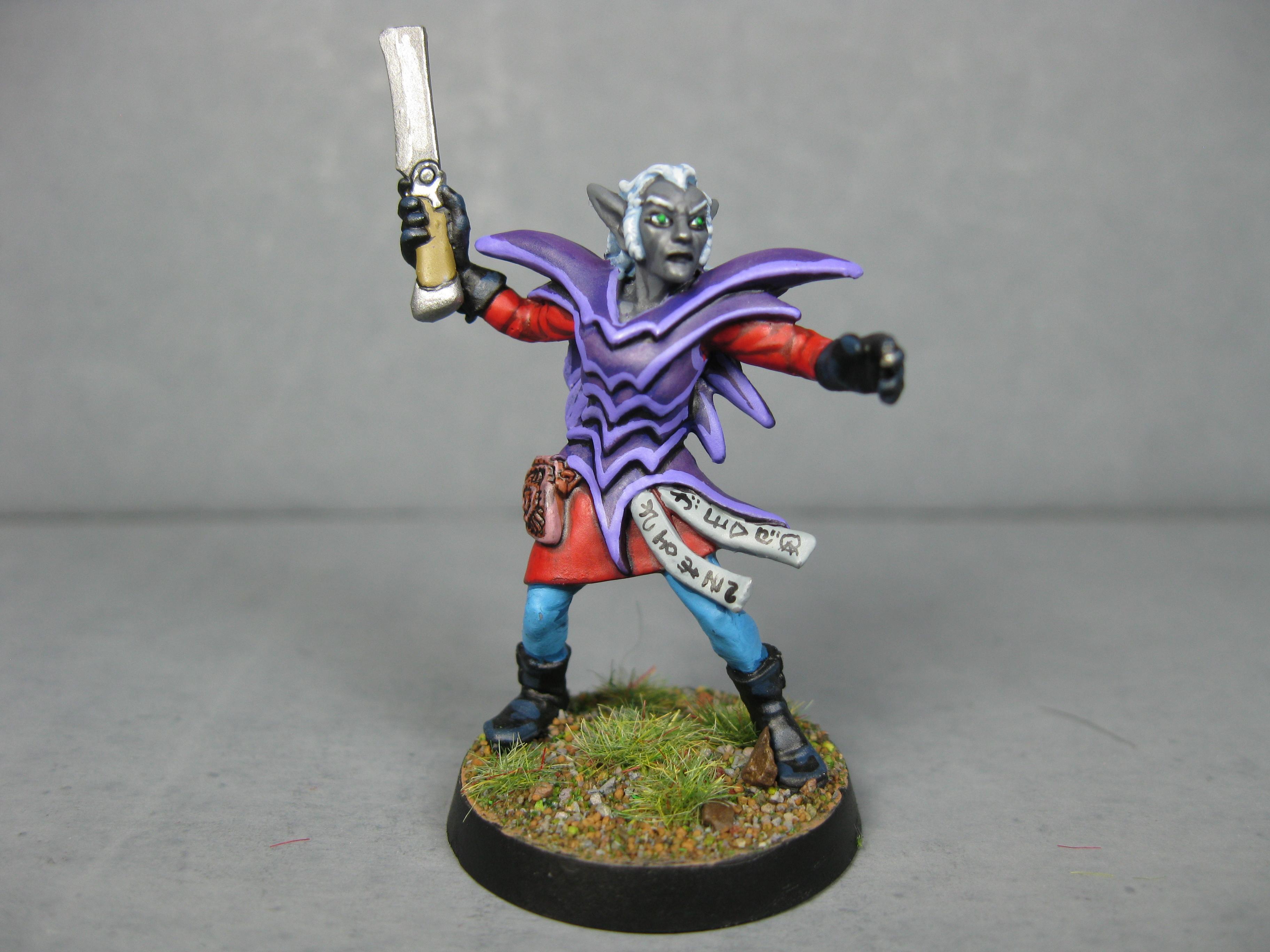 Commission, Dark Elves, Drow, Painted, Pathfinders, Pro Painted, Reaper, Reaper Miniatures, Reaper Minis, Rpg, Warhammer Fantasy