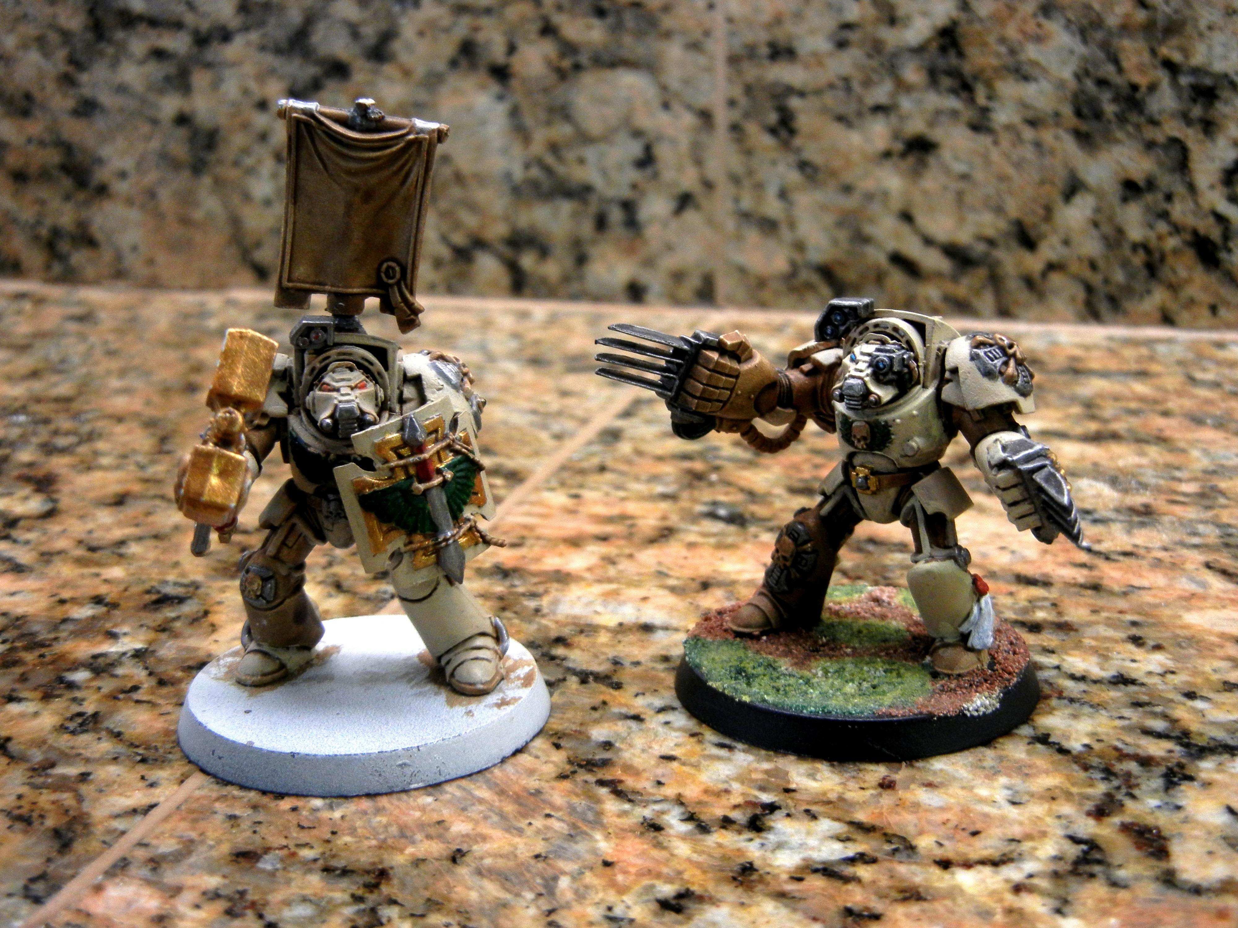 Terminator Armor, Some Painted Terminators