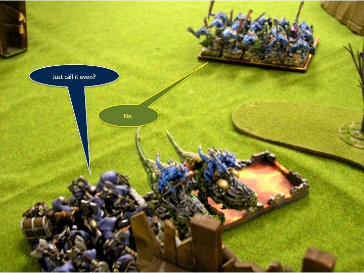Battle Report, More Left Flank