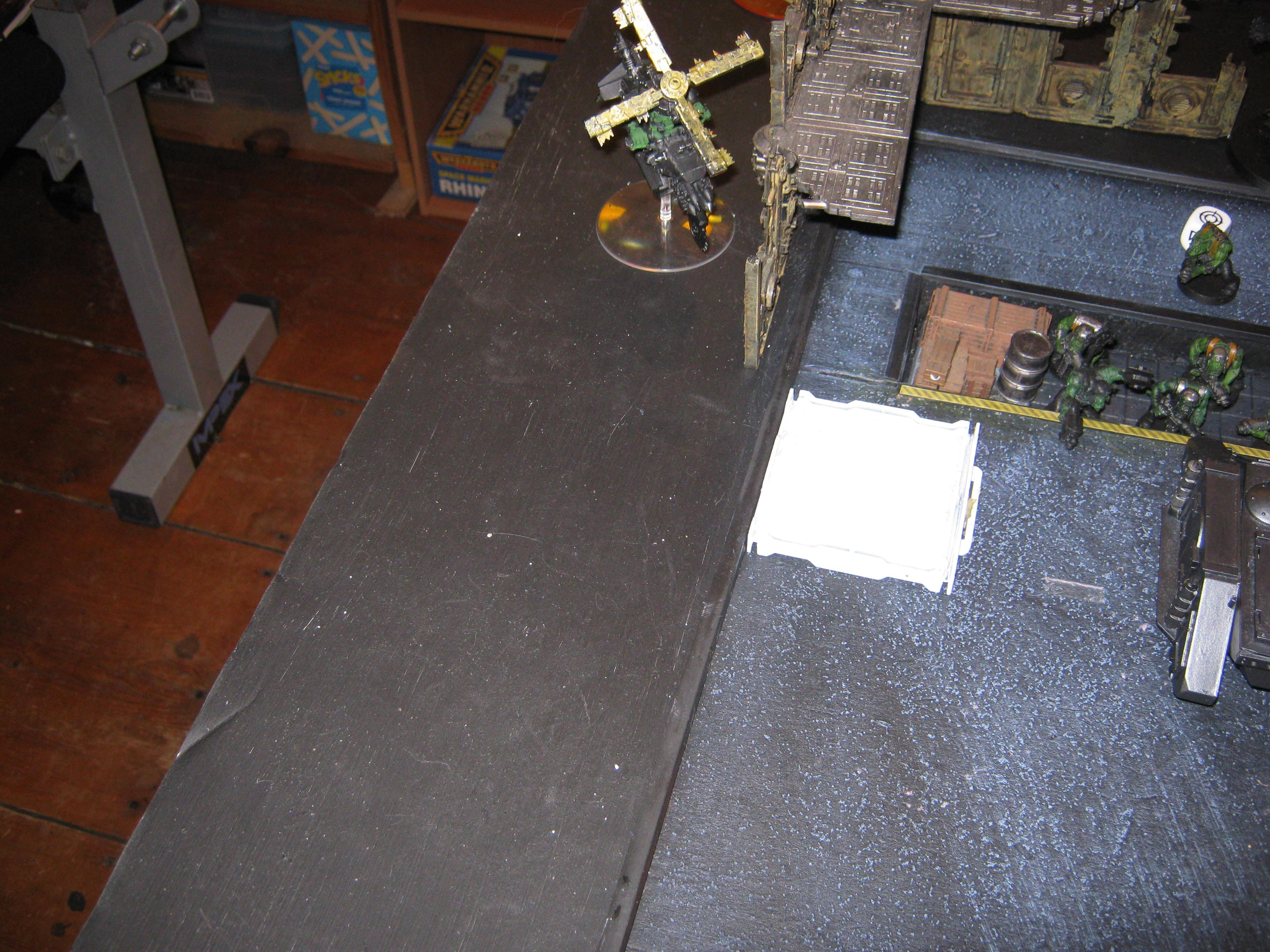 Battle Report, Chaos Space Marines, Orks, Warhammer 40,000