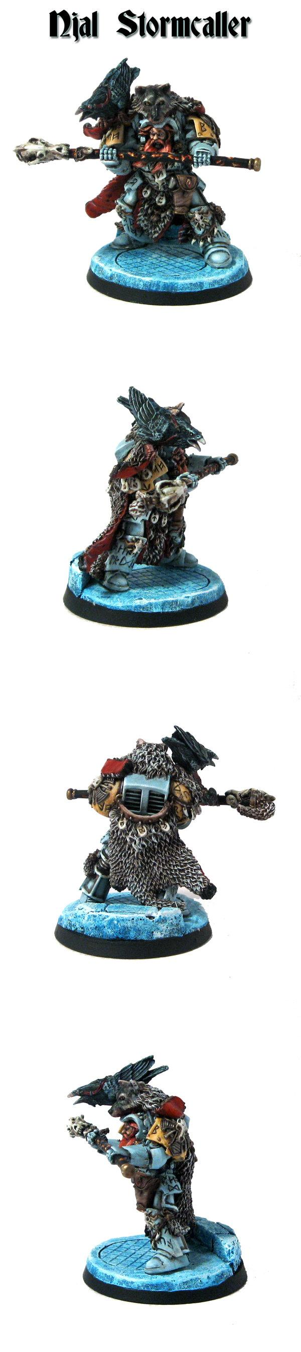Njal Stormcaller, Space Marines, Space Wolves