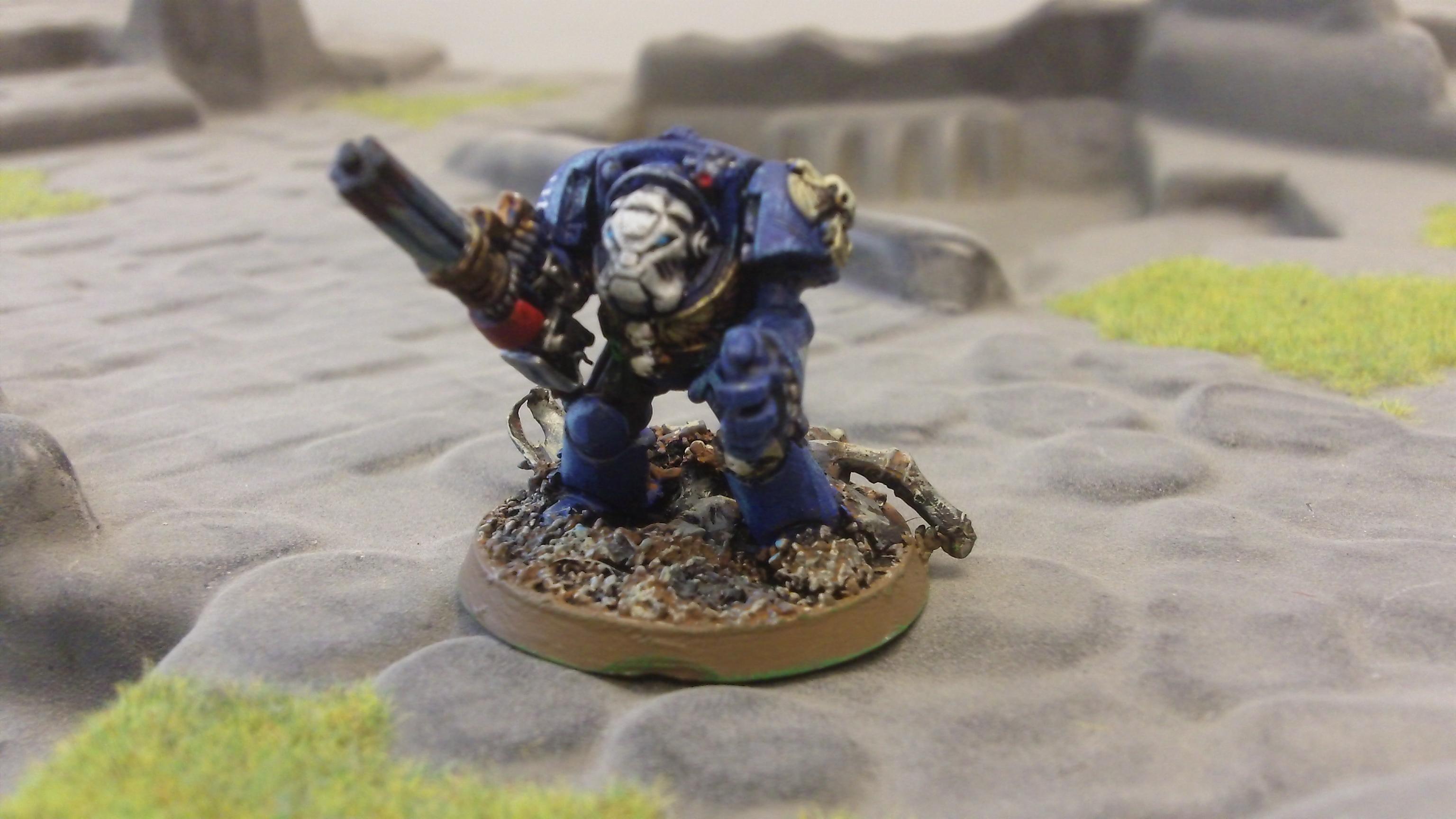 Knightfall, Knightfall Games, Miniatures, Space Marines, Terminator Armor, Ultra, Ultramarines, Warhammer 40,000, Warhammer Fantasy