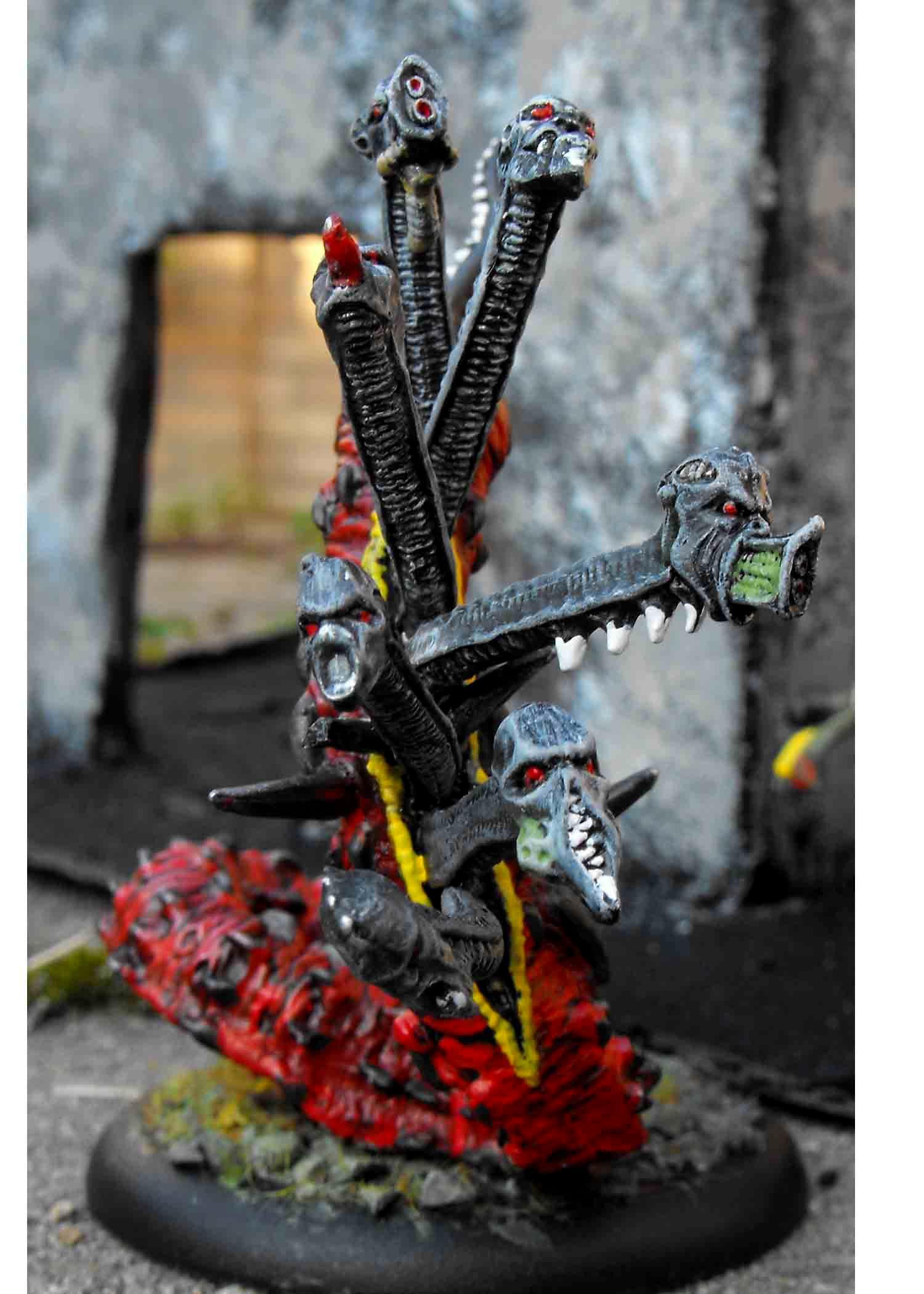 Hydra, Koralon, Urban War