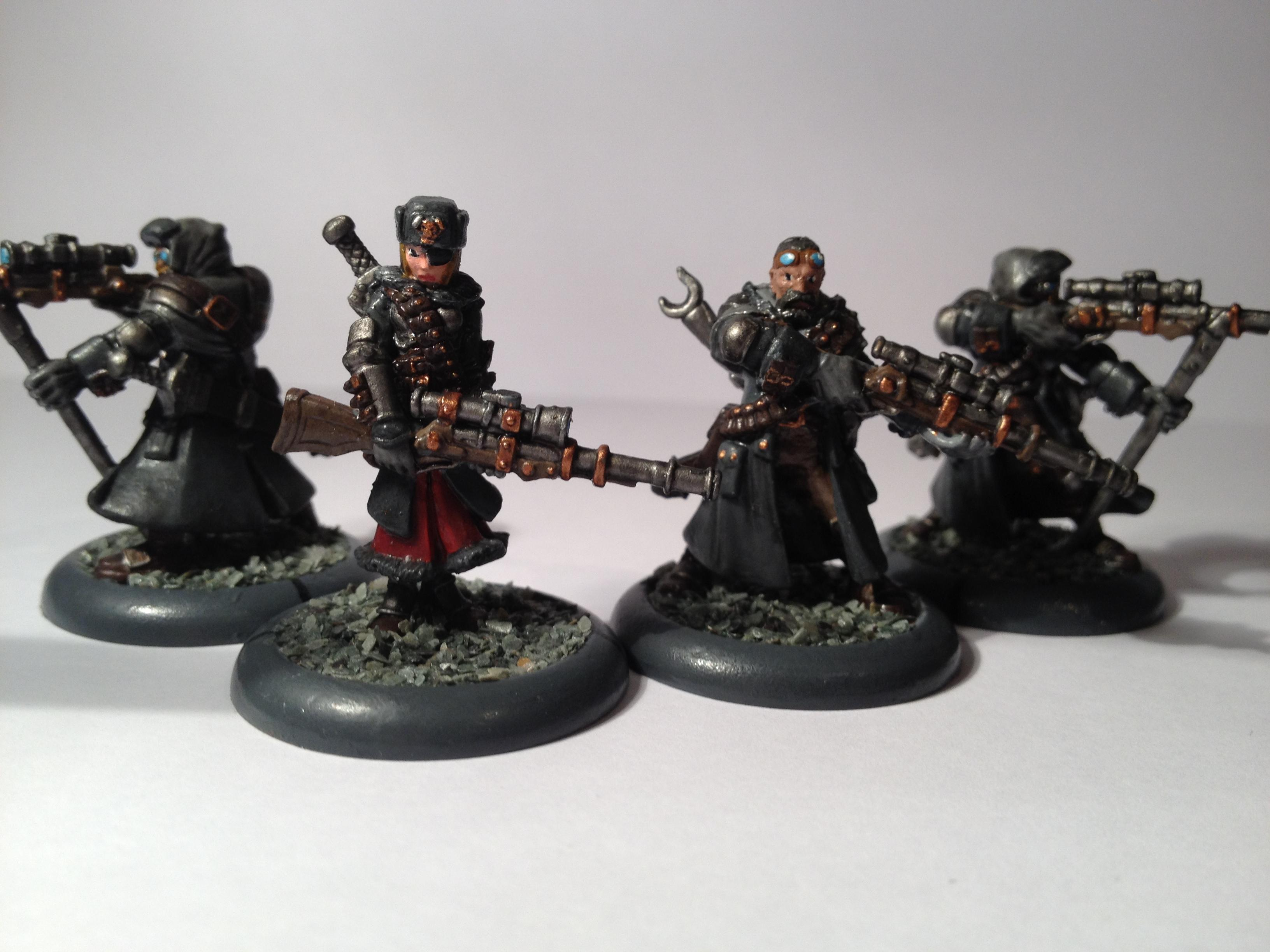 Khador, Warmachine, Widowmaker, Widowmakers