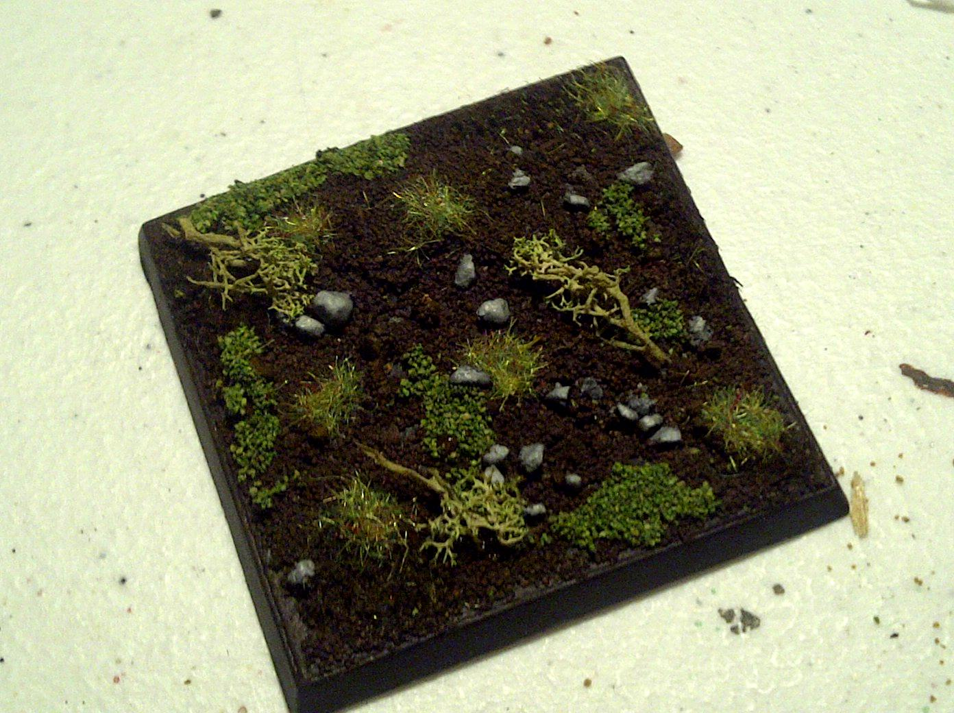 Test base for army