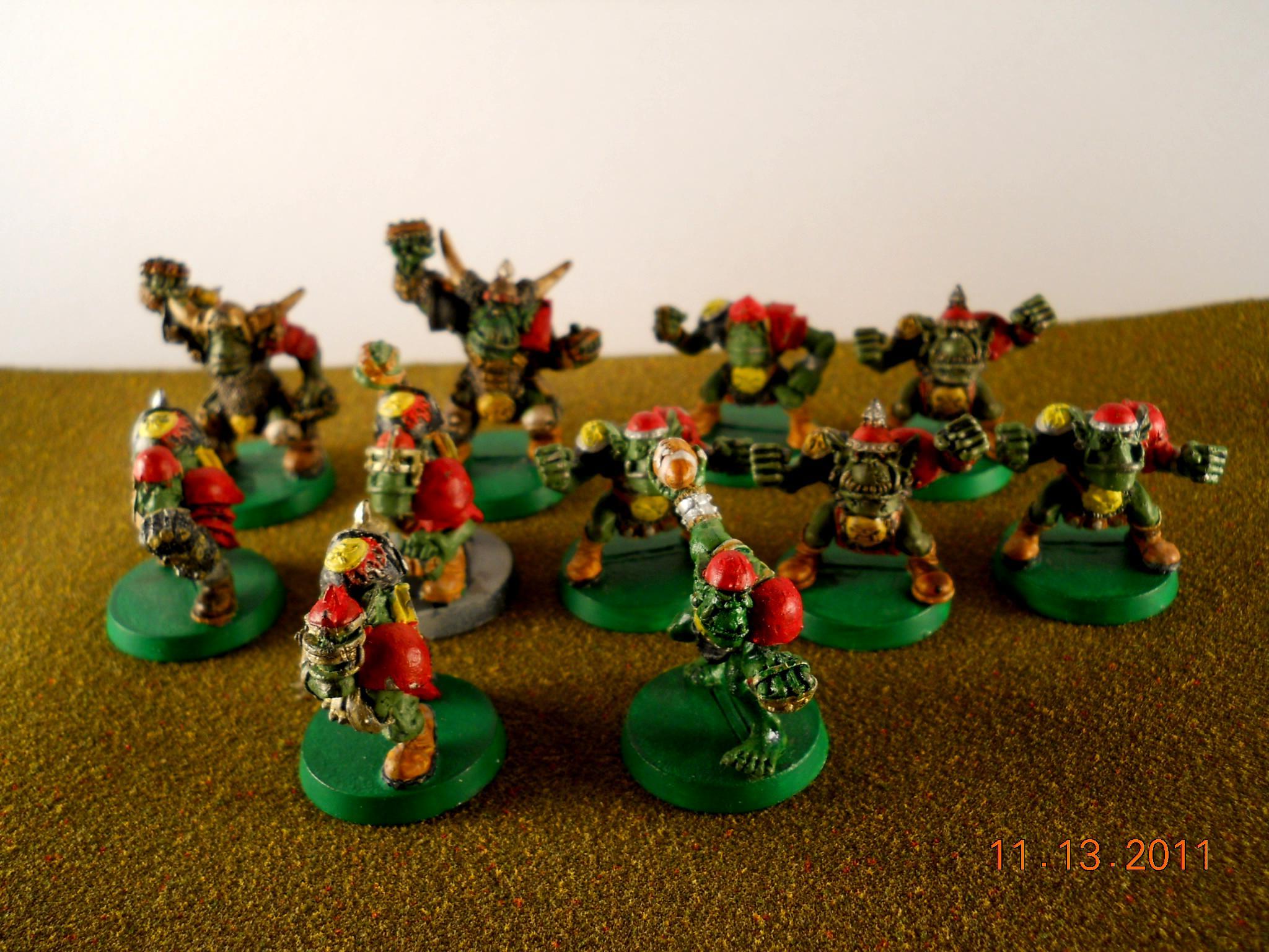 Blood Bowl, Orcs, Orc Blood Bowl Team