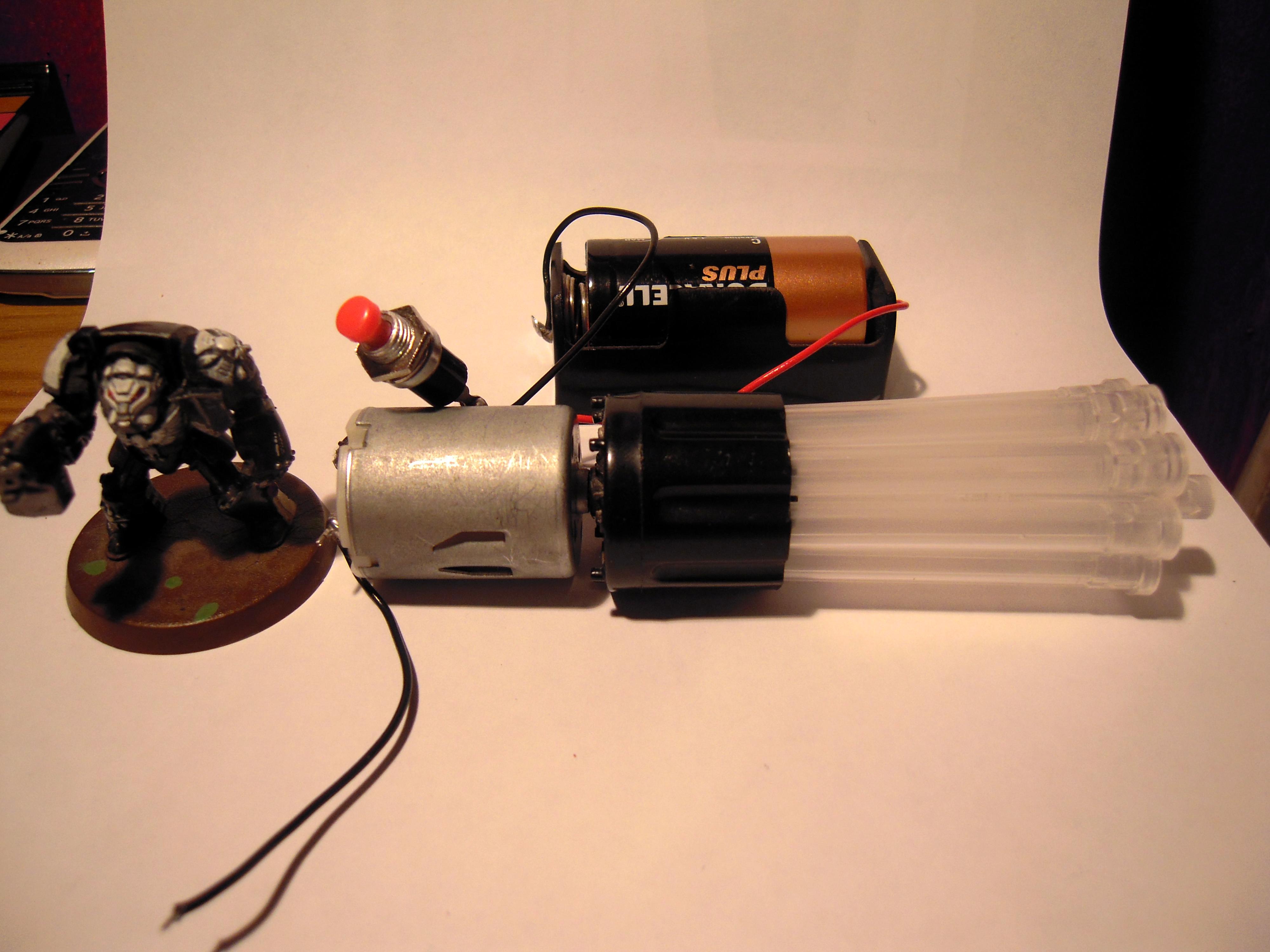 Oppo, Mega Dread Gatling Gun
