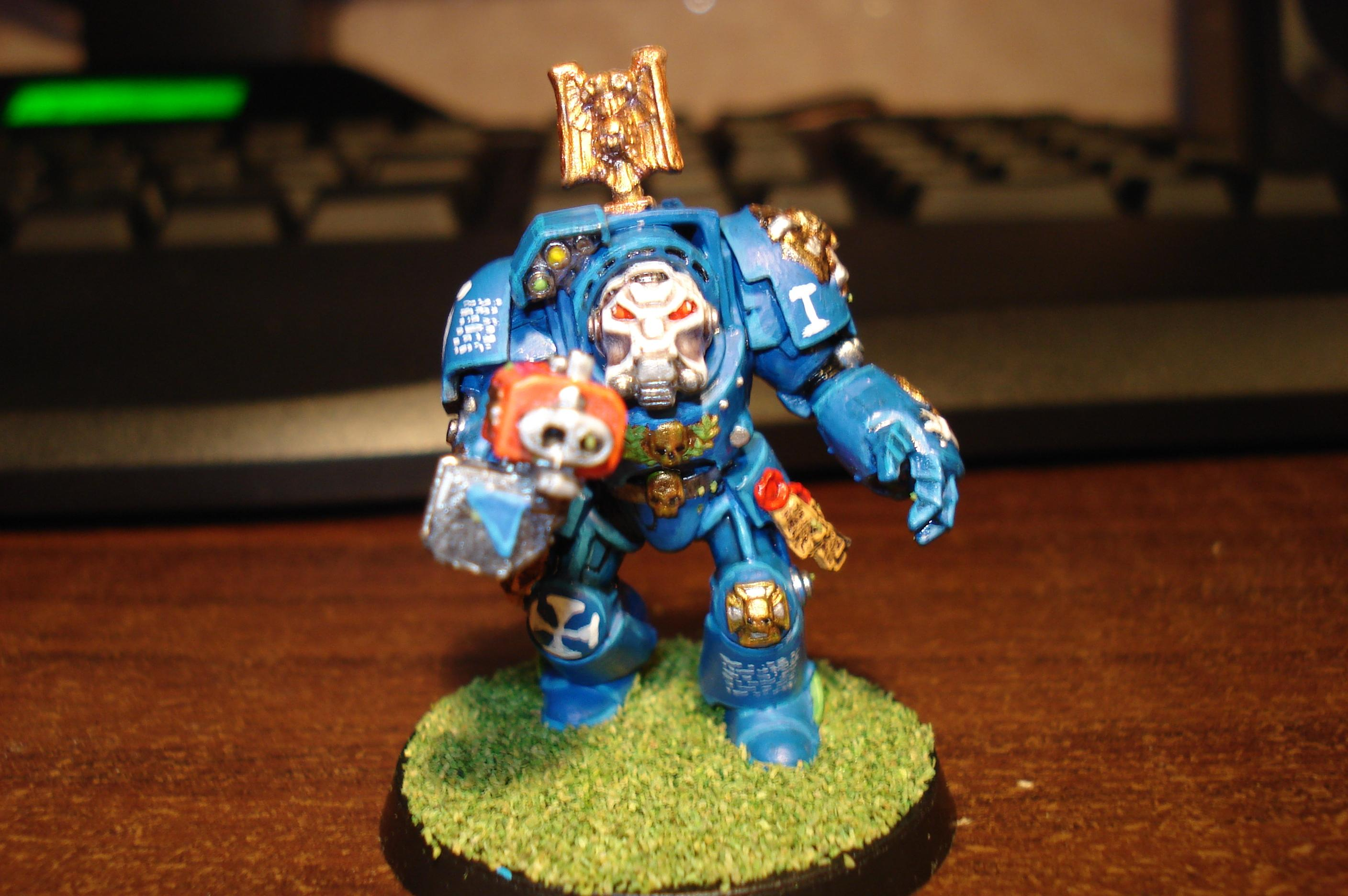 Terminator with storm bolter