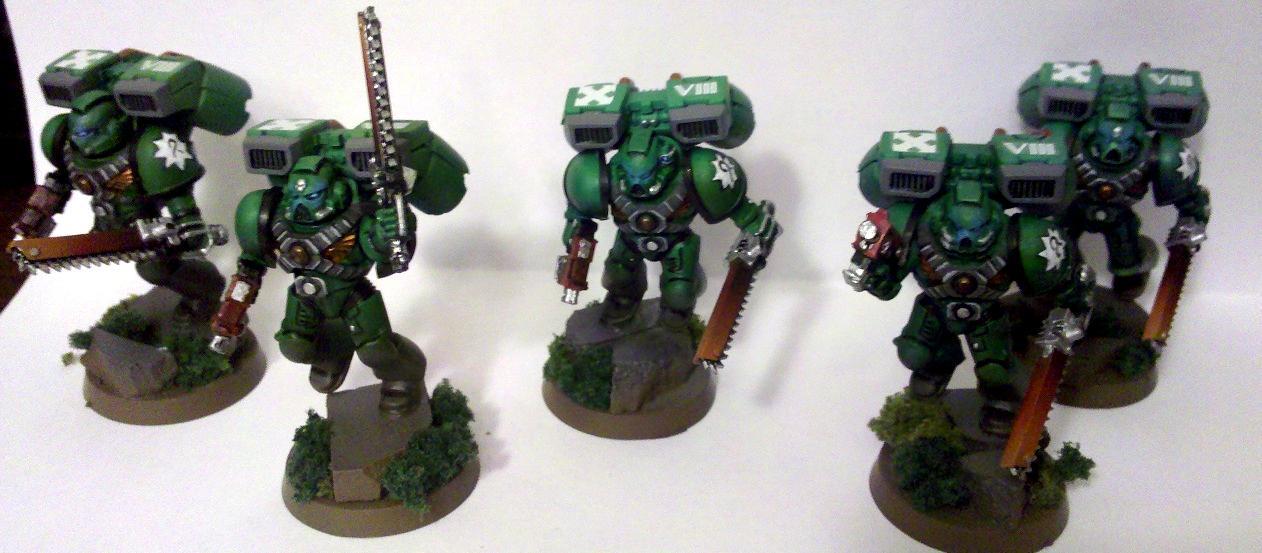 Aruora Marines, Assault Squad, Space Marines