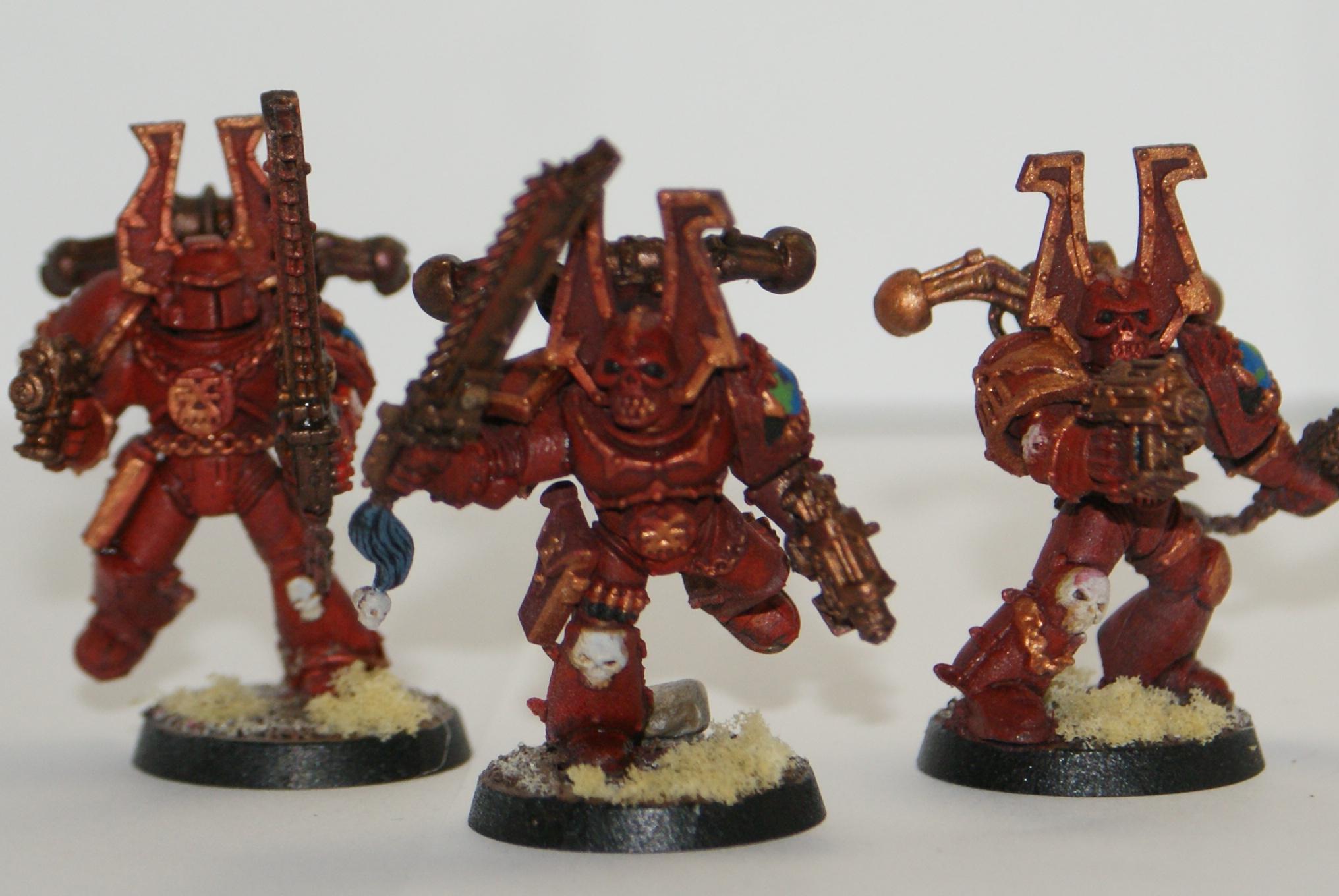 Chaos Space Marines, Khorne, Khorne Berserkers, Warhammer 40,000, World Eaters