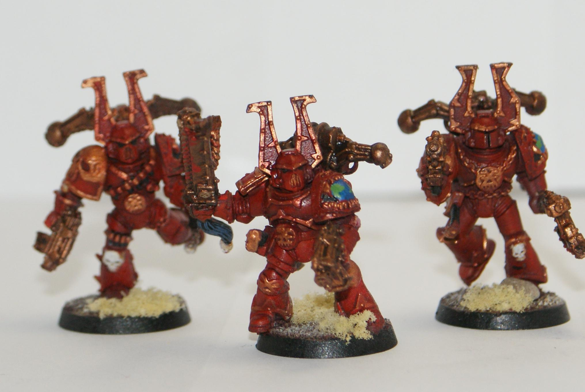 Chaos Space Marines, Khorne, Khorne Berserkers, Warhammer 40,000, World Eaters