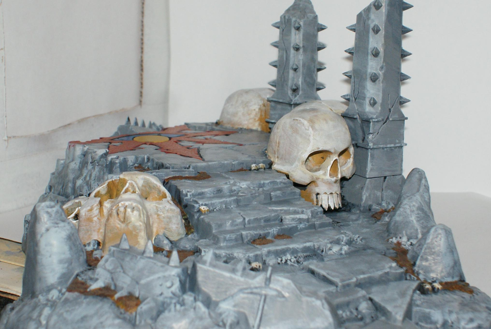Temple Of Skulls, Terrain