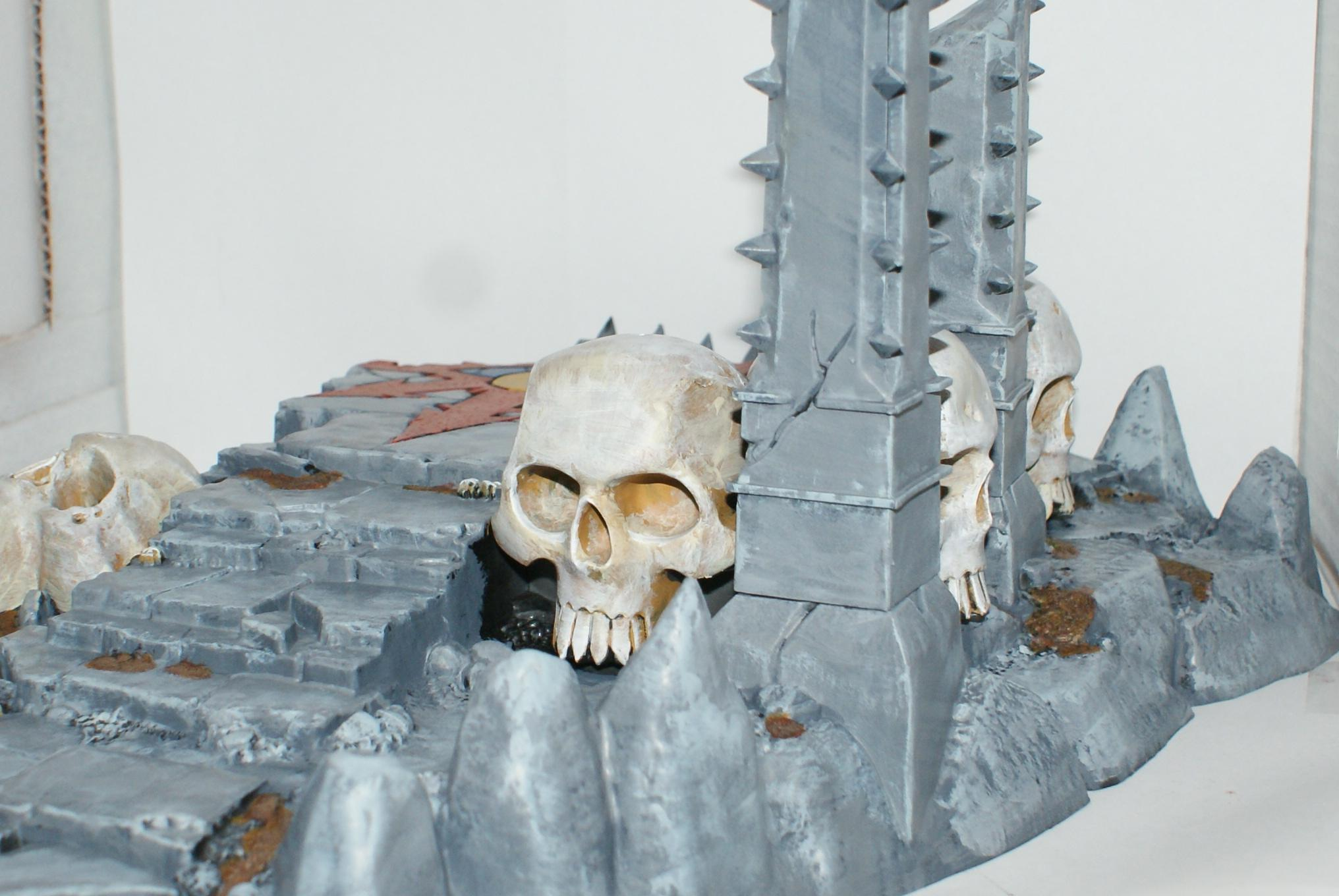 Temple Of Skulls, Terrain