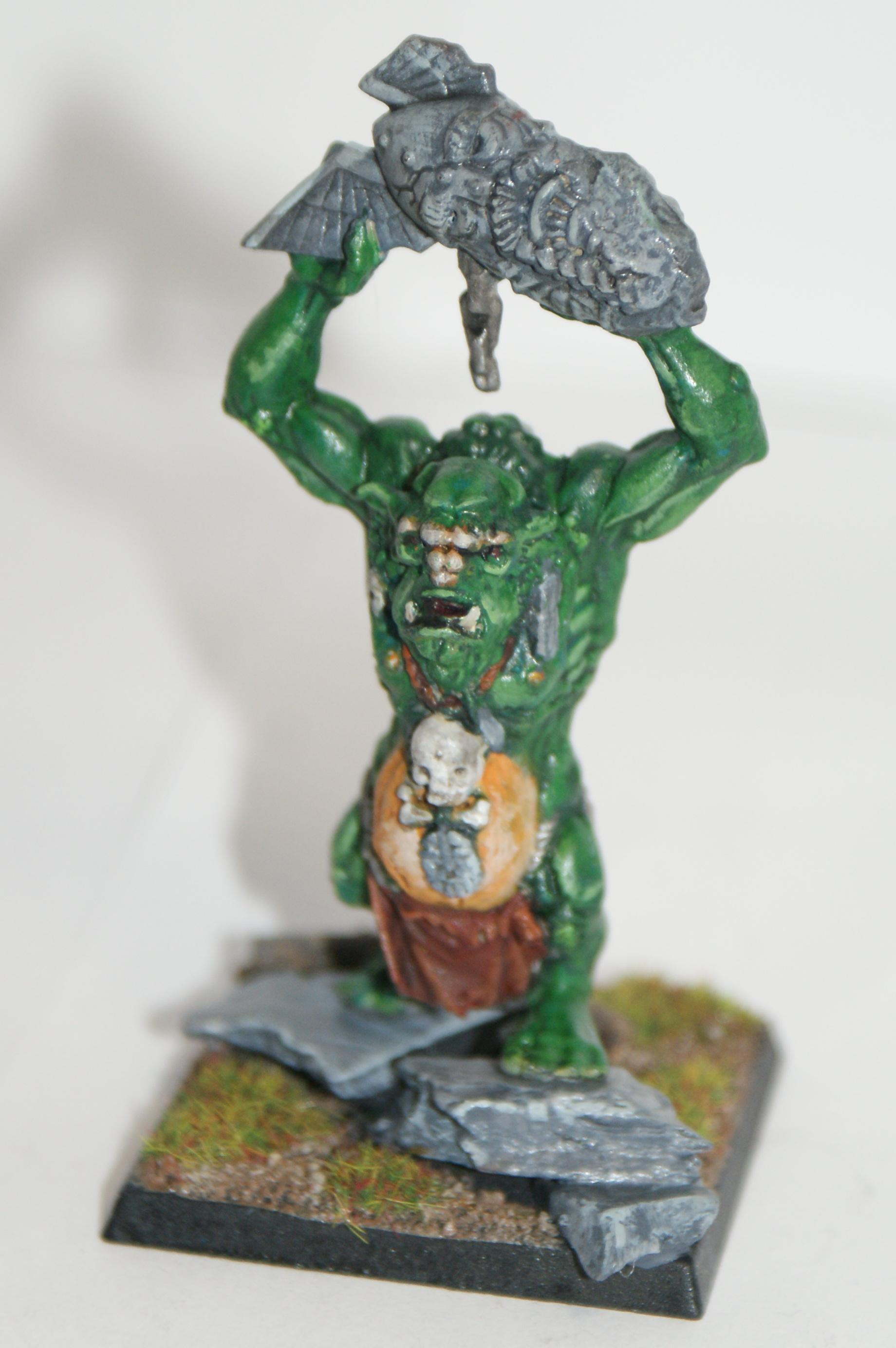 Battle Of Skull Pass, Orcs And Goblins, Troll