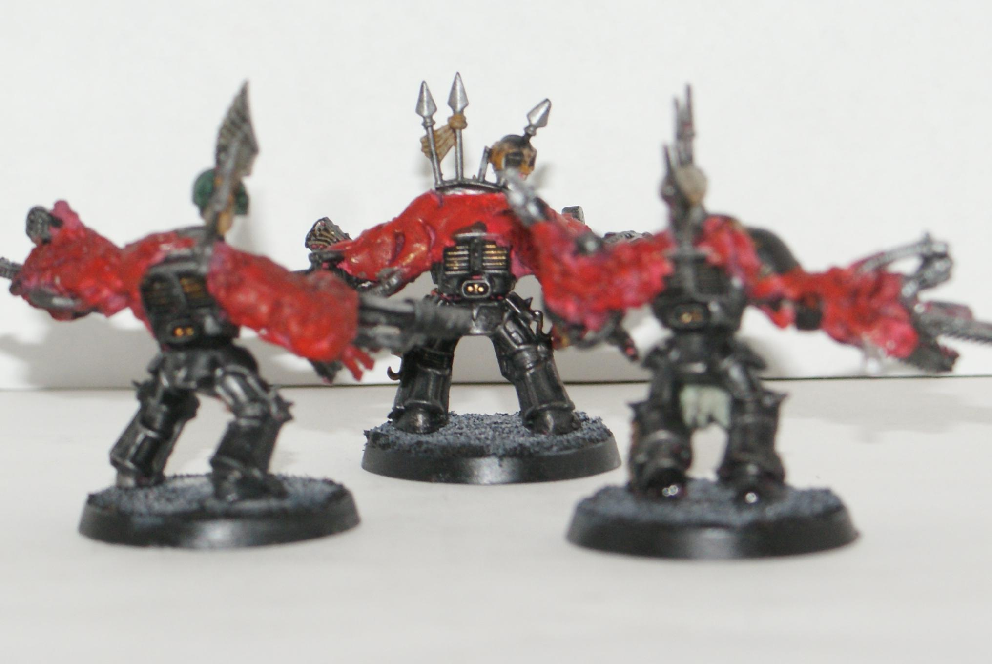 Chaos Space Marines, Chaos Terminators, Modded, Obliterators, Warhammer 40,000
