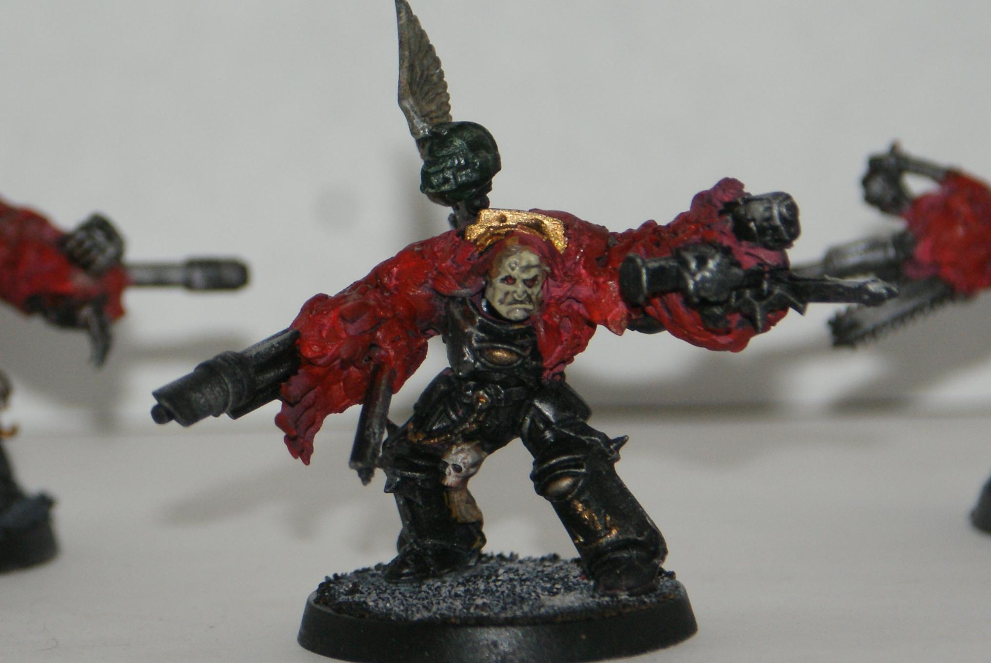 Chaos Space Marines, Modded, Obliterators, Warhammer 40,000