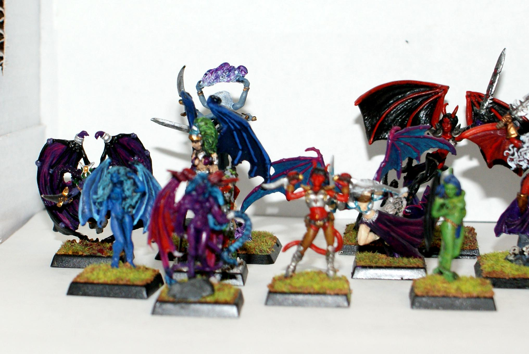 Female, Nude, Reaper, Succubus, Warlords
