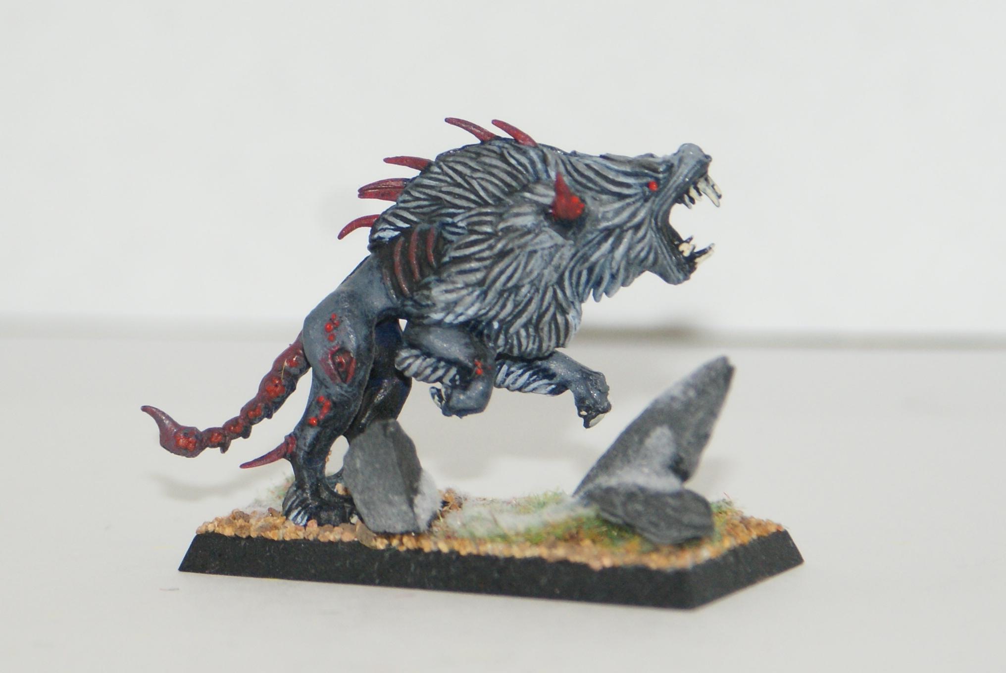 Test Piece, Warhammer Fantasy, Warhound, Warriors Of Chaos