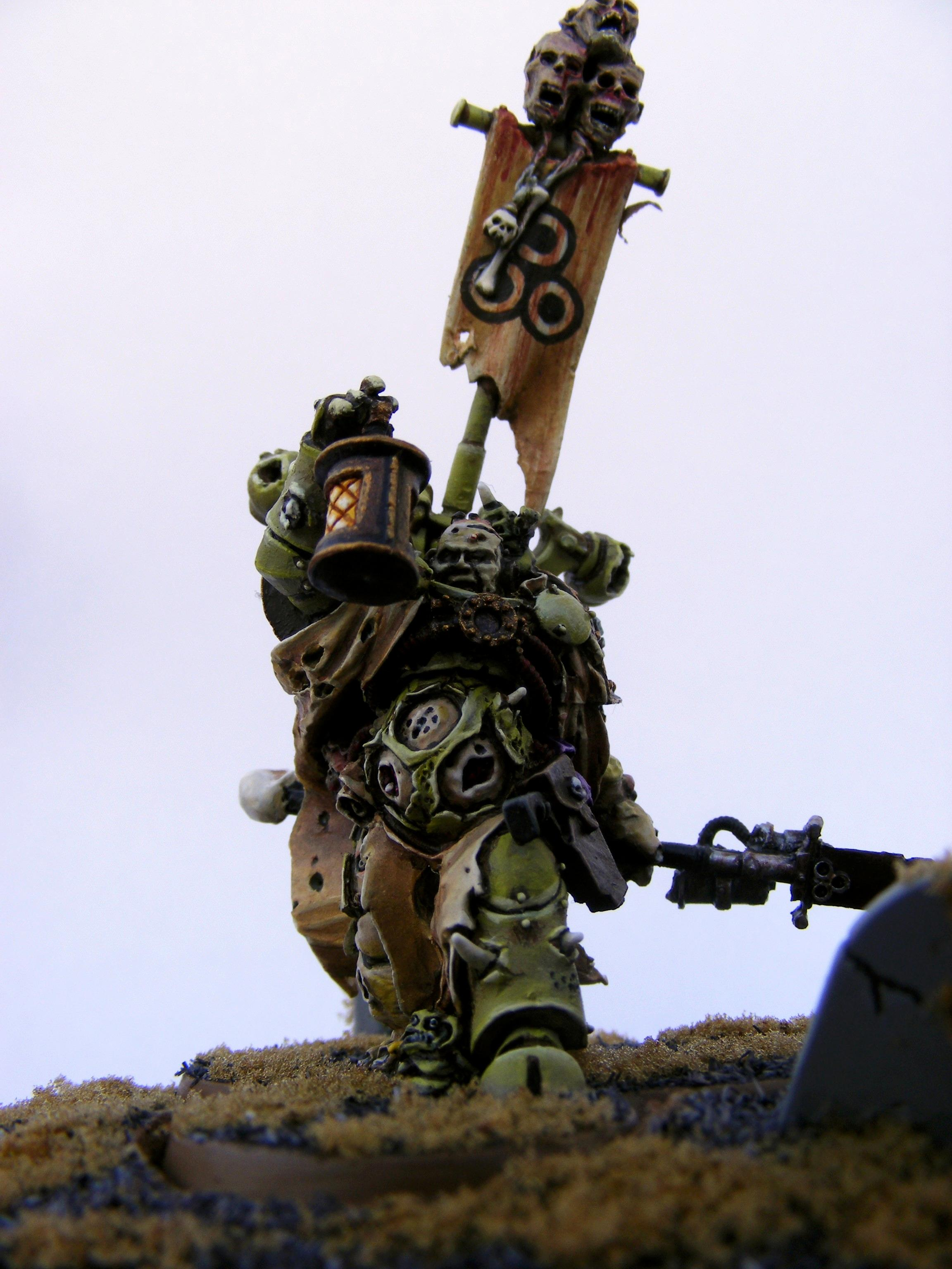 Chaos Space Marines, Nurgle, Sorcerer