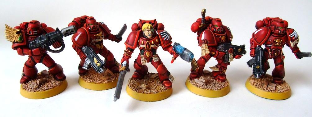Blood Angels, Sergeant, Space Marines, Tactical
