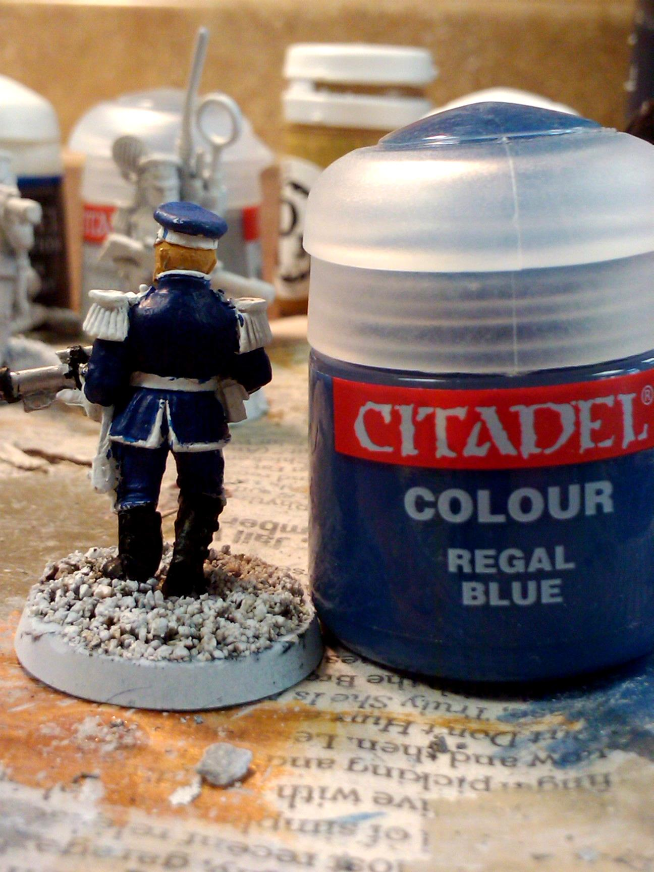 Conversion, Hobby Craft, Imperial Guard, Mordian Iron Guard, Paint Scheme, Warhammer 40,000