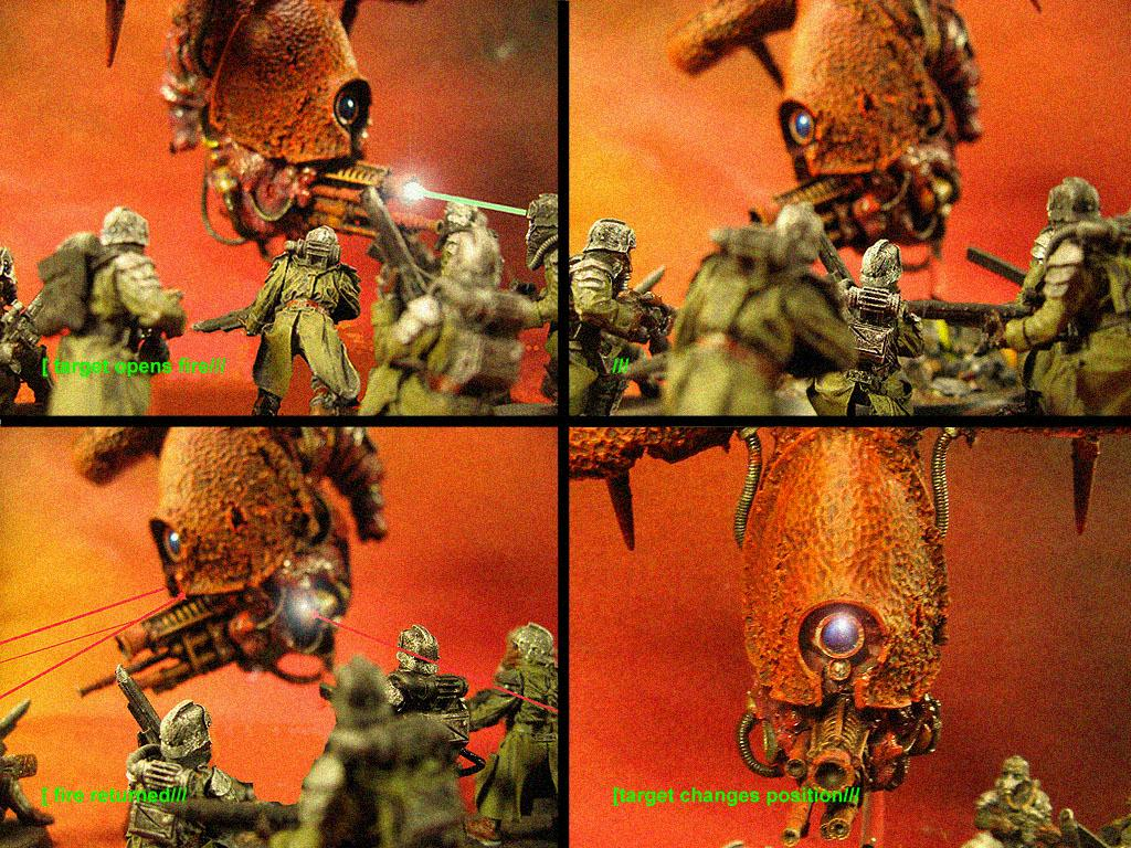 Attack, Battle Log, Death Korps of Krieg, Grenadiers, Nurgle Blight Drone
