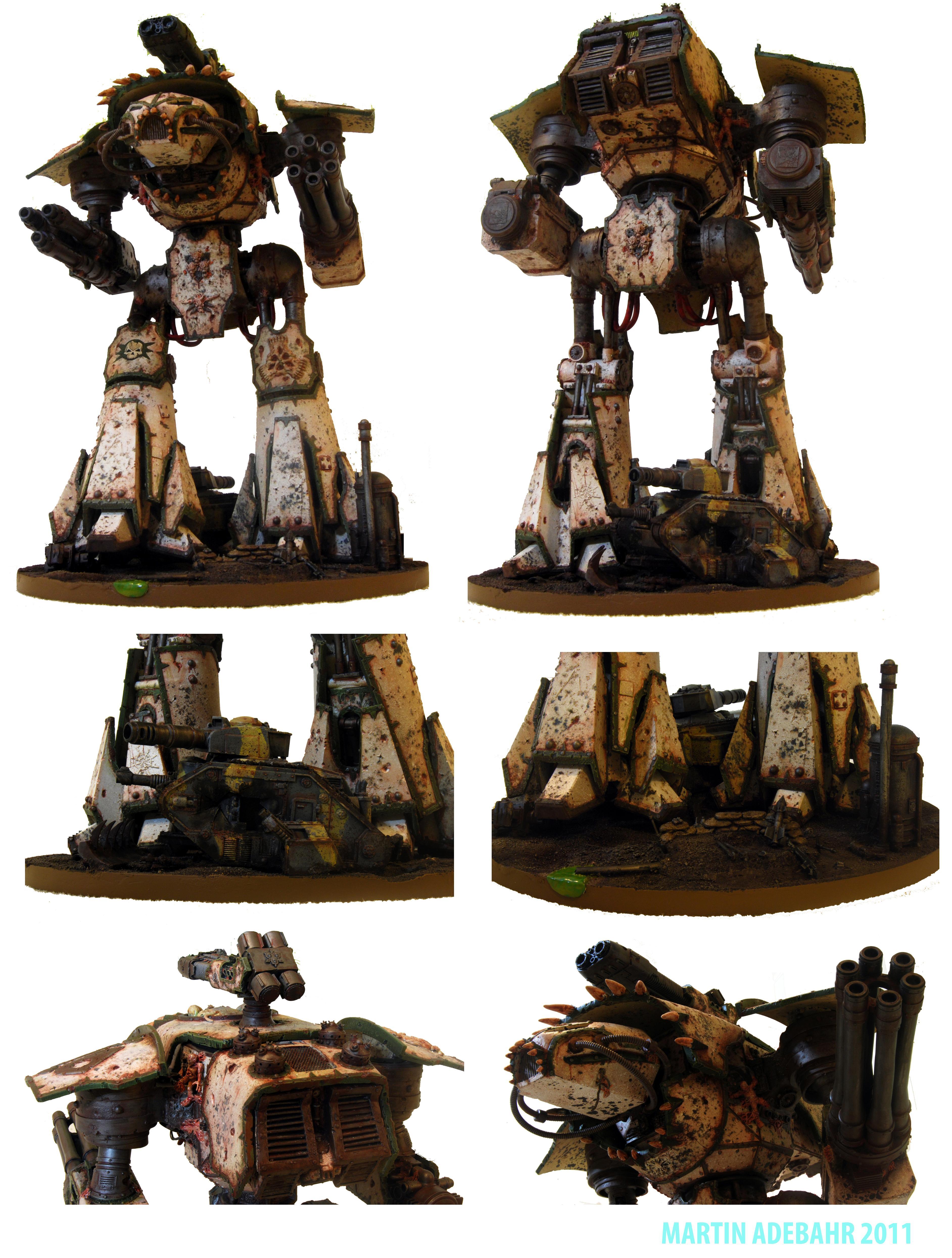 Chaos Reaver Titan, Reaver, Titan