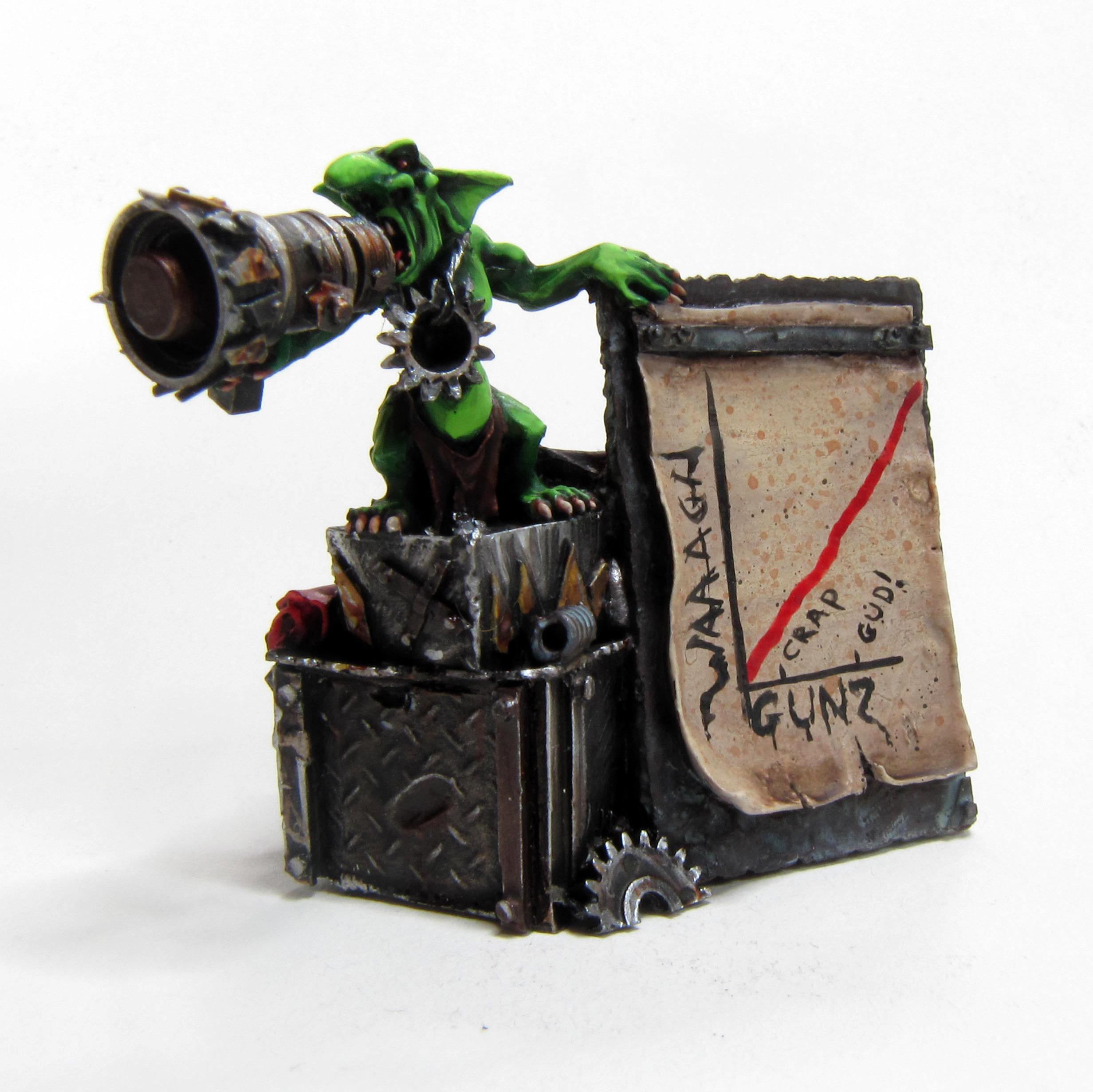 Green, Grots, Orcs, Orks, Warhammer 40,000