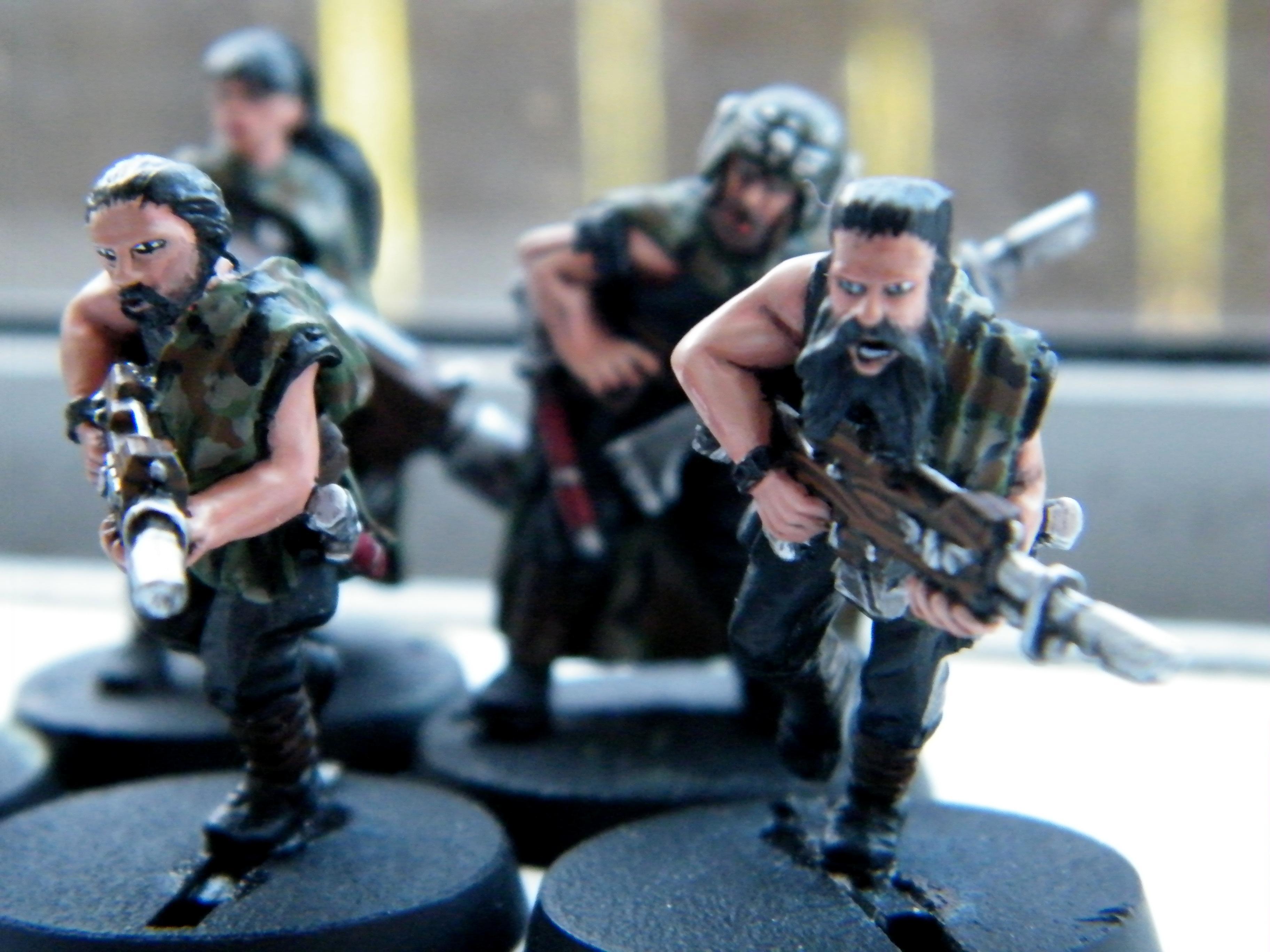 Abnett, Camouflage, Cloak, Conversion, Imperial Guard, Tanith, Warhammer 40,000, Warhammer Fantasy, Work In Progress