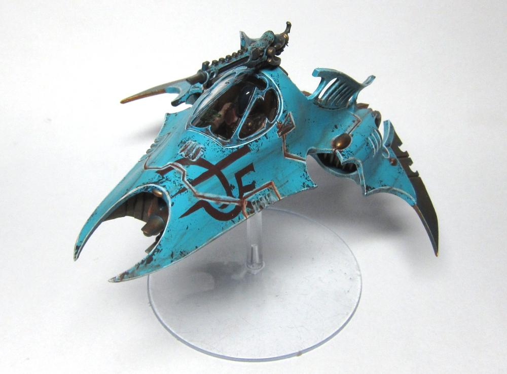 Battle-damage, Dark Eldar, Venom, Warhammer 40,000
