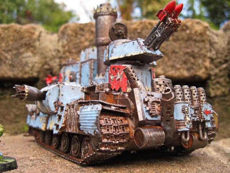 Kustom, Orks, Vehicle, Warhammer 40,000
