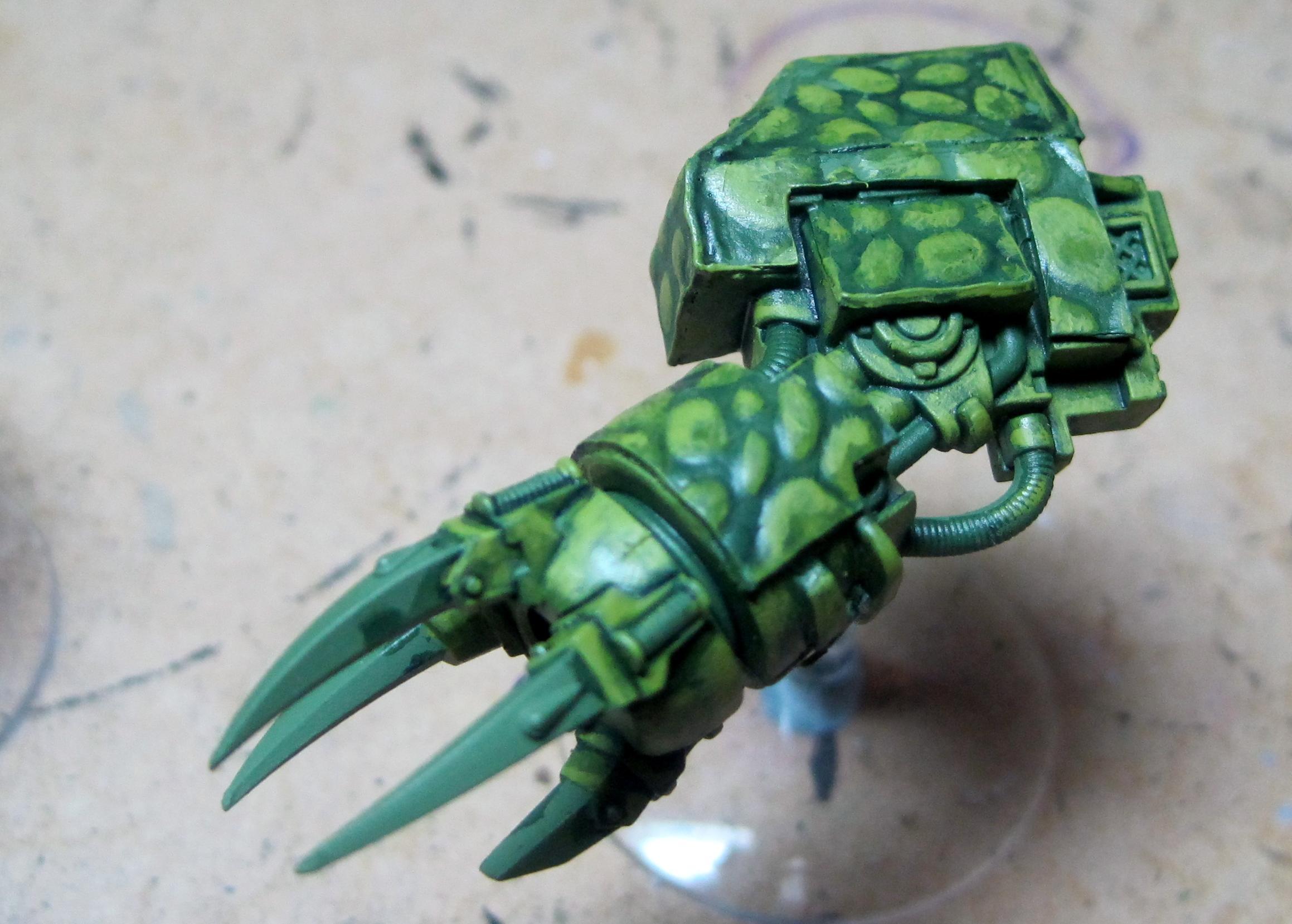 Rex - Left Arm - Step 3
