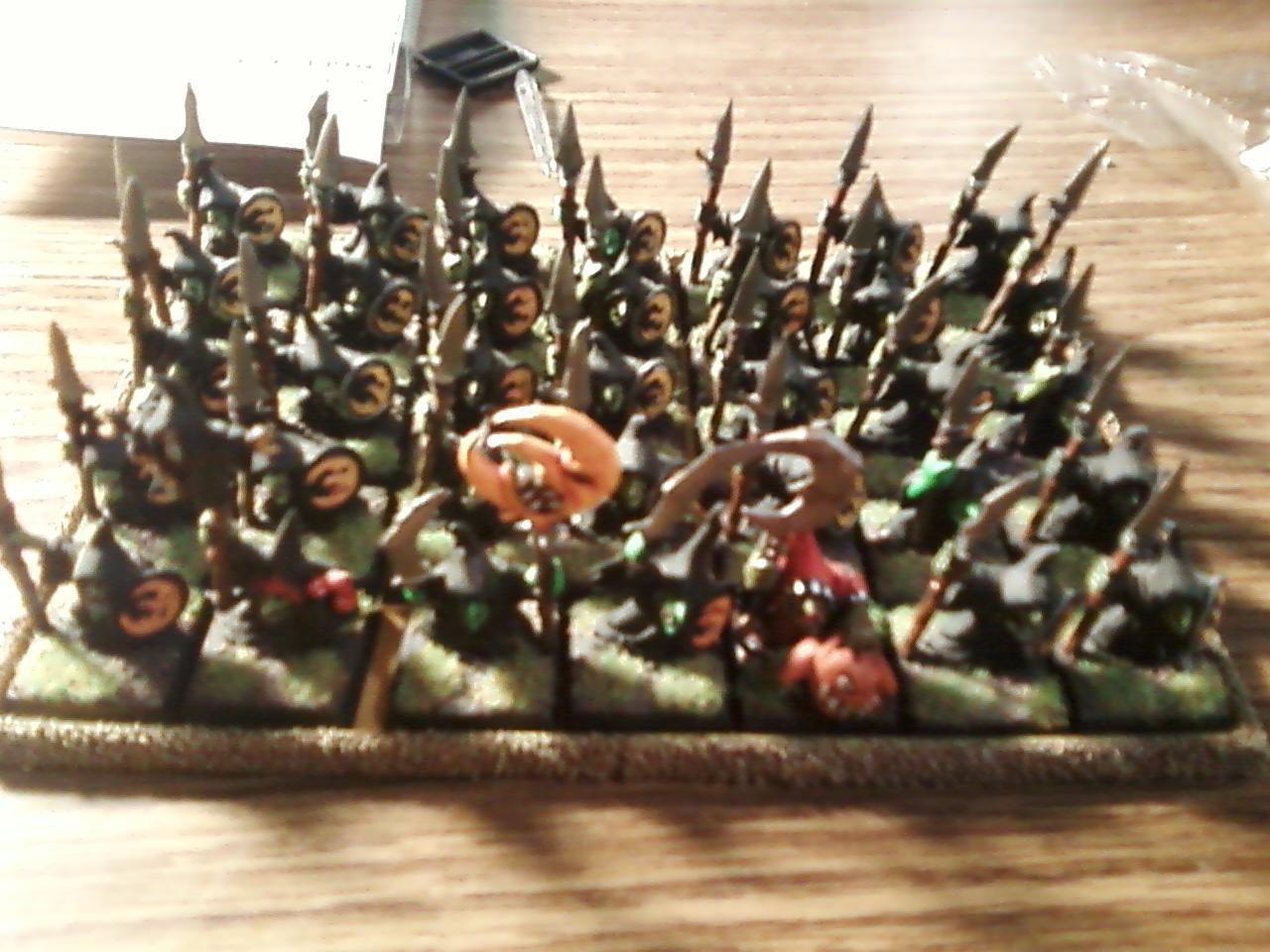 Night Goblins, Regiments, Warhammer Fantasy