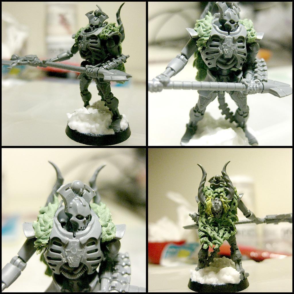 Cape, Chaos Skull, Horns, Lychguard