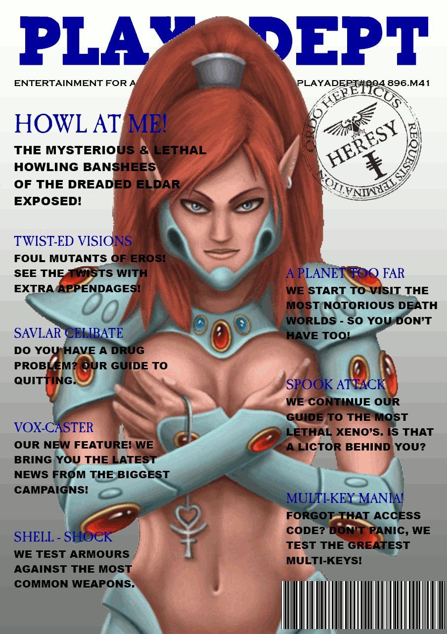 Eldar, Humor, Magazine