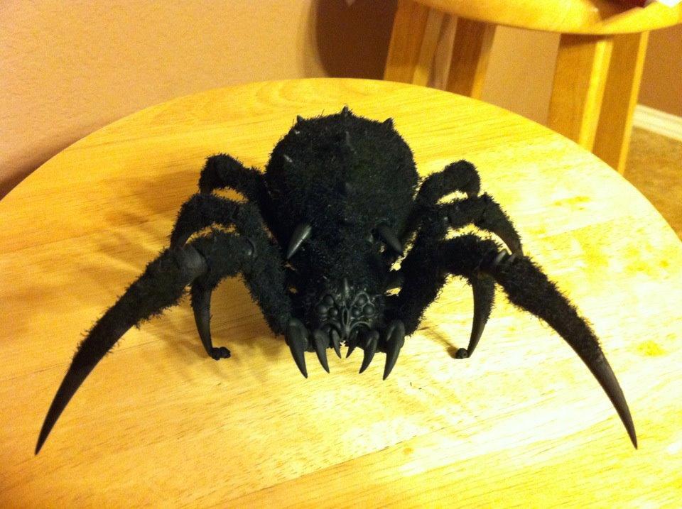 Arachnarok, Flock, Fur, Fuzzy, Orcs & Goblins Arachnarok Spider
