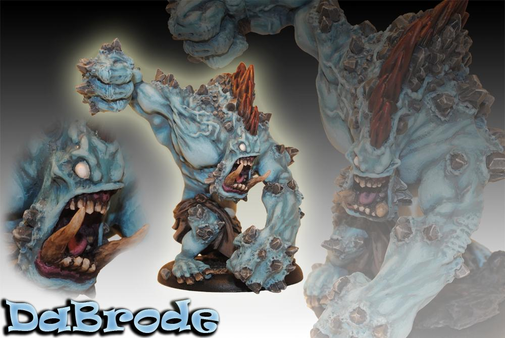 Conversion, Dabrode, Dire, Extreme, Hordes, Mauler, Press, Privateer Press, Sculpting, Troll, Trollbloods, Warmachine