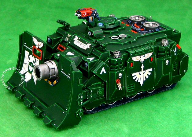 Dark Angels, Space Marines, Vehicle, Warhammer 40,000