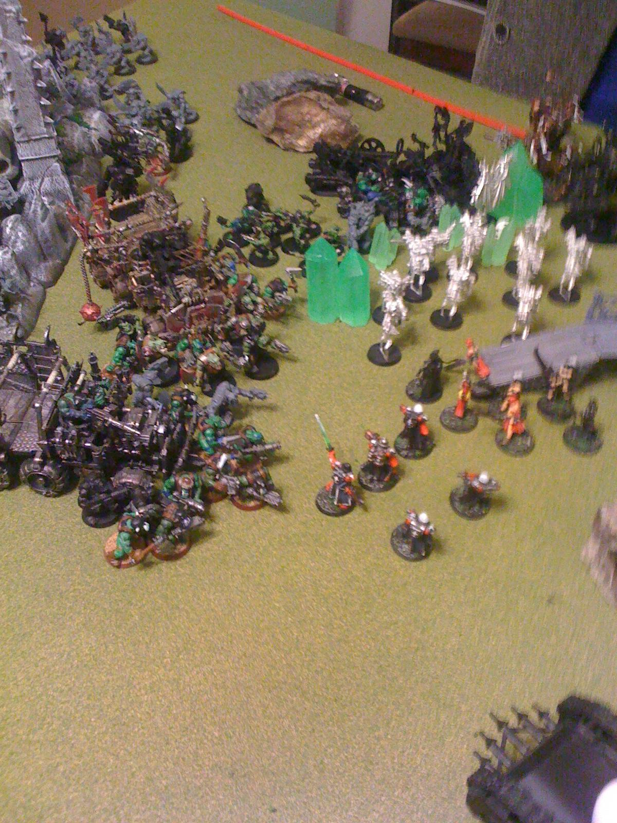 Chaos, Necrons, Orks, Sisters Of Battle