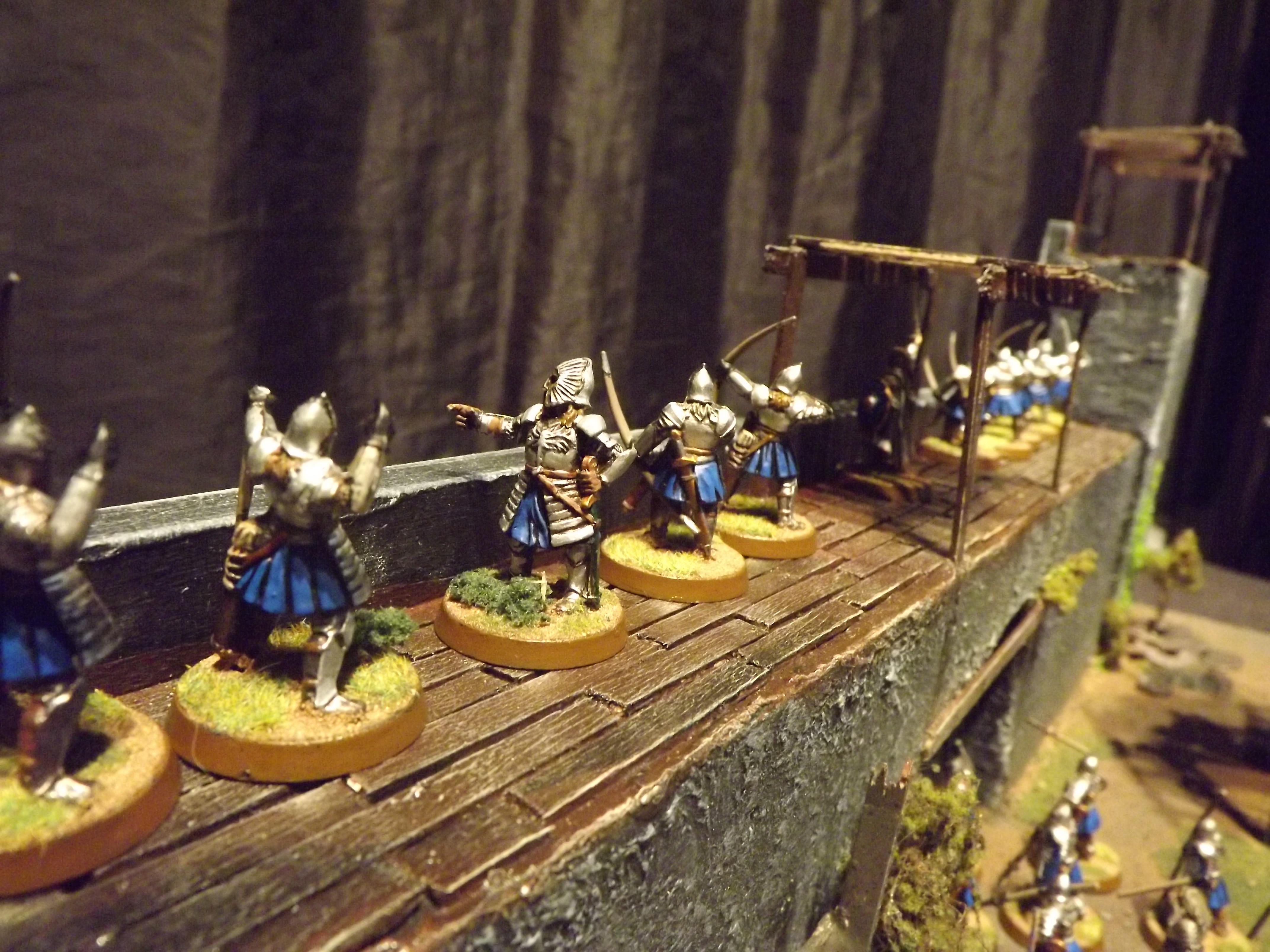 Battle, Castle, Fort, Gondor, Lord Of The Rings, Orcs, Orks, Playing Board, Playing Table, Playing Table Minas Tirith, Seige