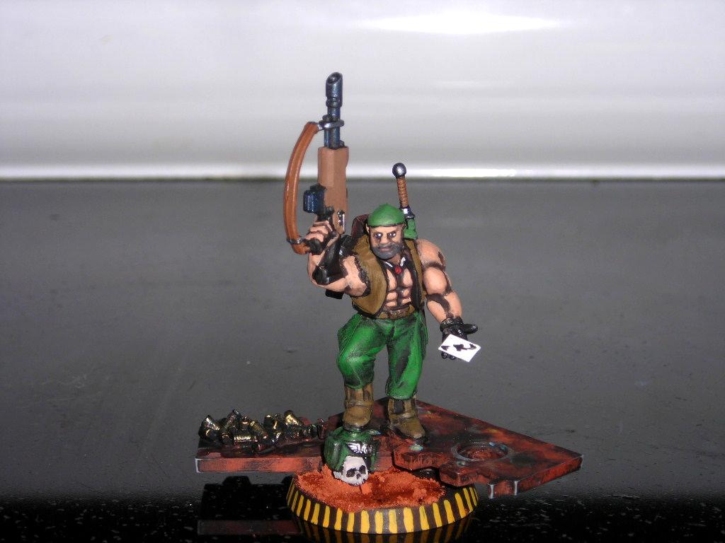 Ace, Ace Of Spades, Catachan, Death Card, Imperial Guard, Veteran, Vietnam