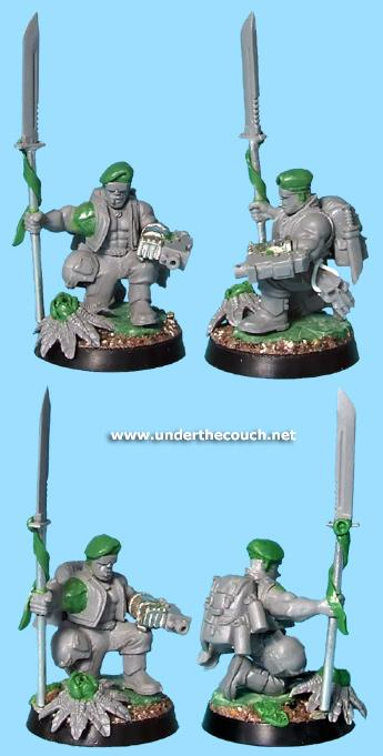 Catachan, Conversion, Imperial Guard, Officer