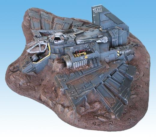 Aquilla, Battle For Macragge, Lander, Reassembled Aquila, Shuttle, Terrain