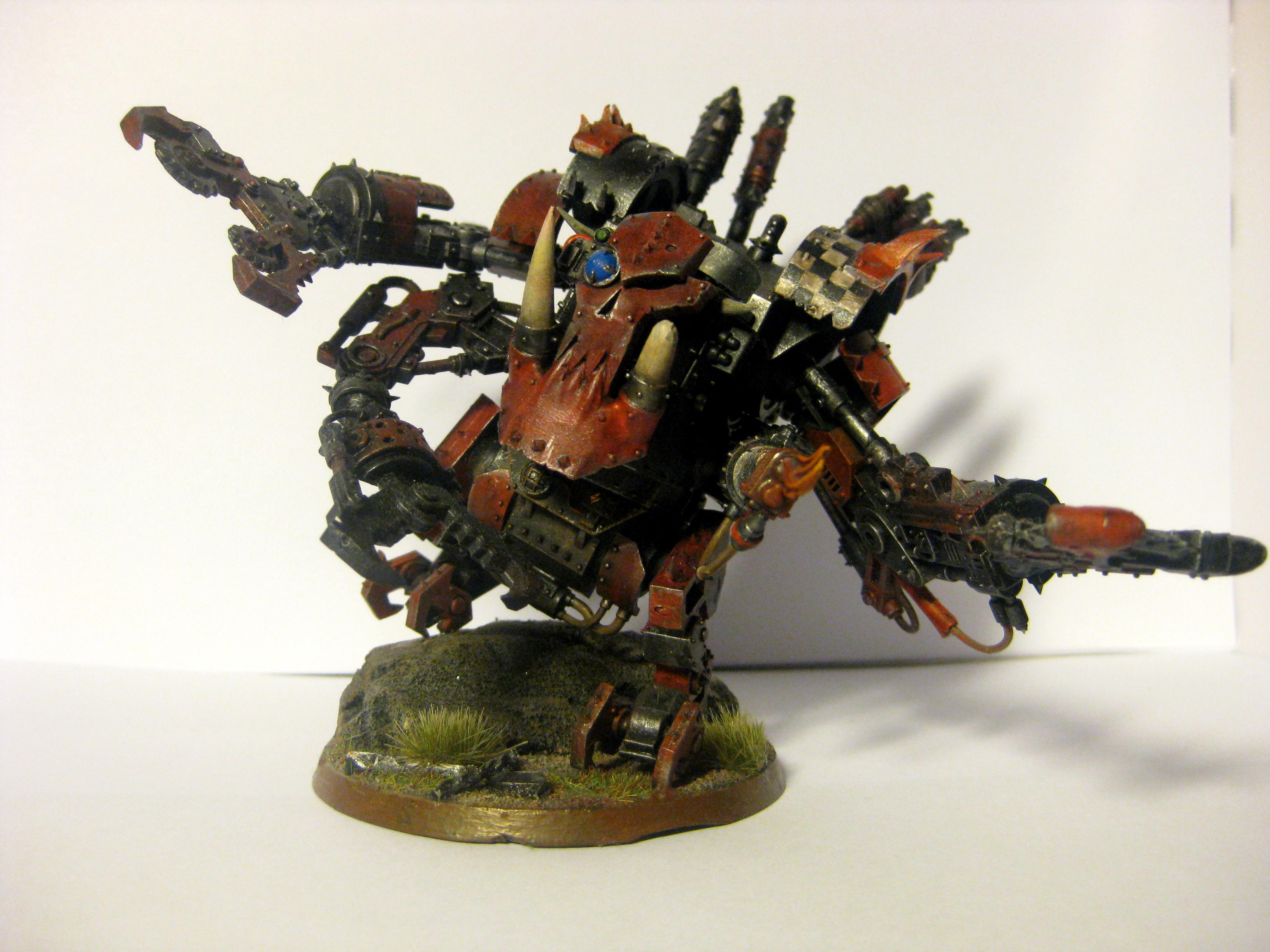 Deff Dread, Dreadnought, Evil Sunz, Orks, Stomp, Warhammer 40,000