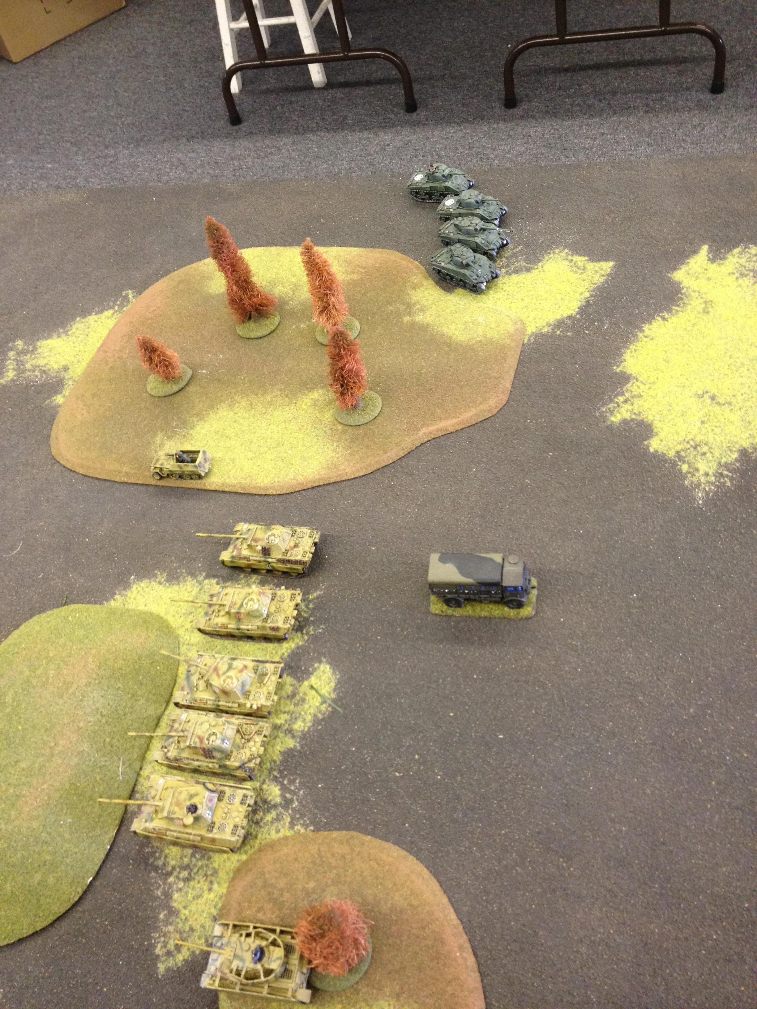 Flames Of War, Panther, Sherman