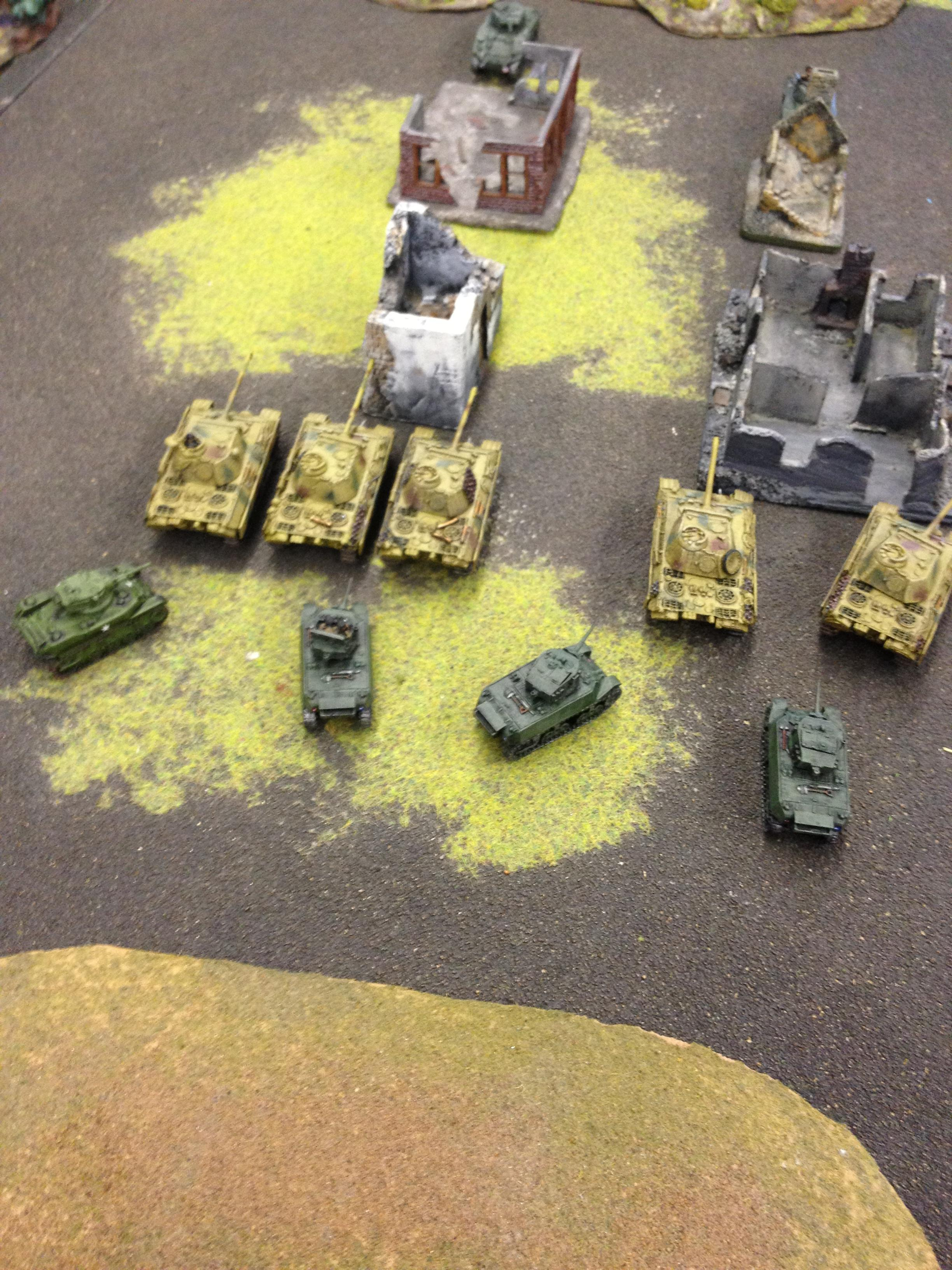 Flames Of War, Panther, Sherman